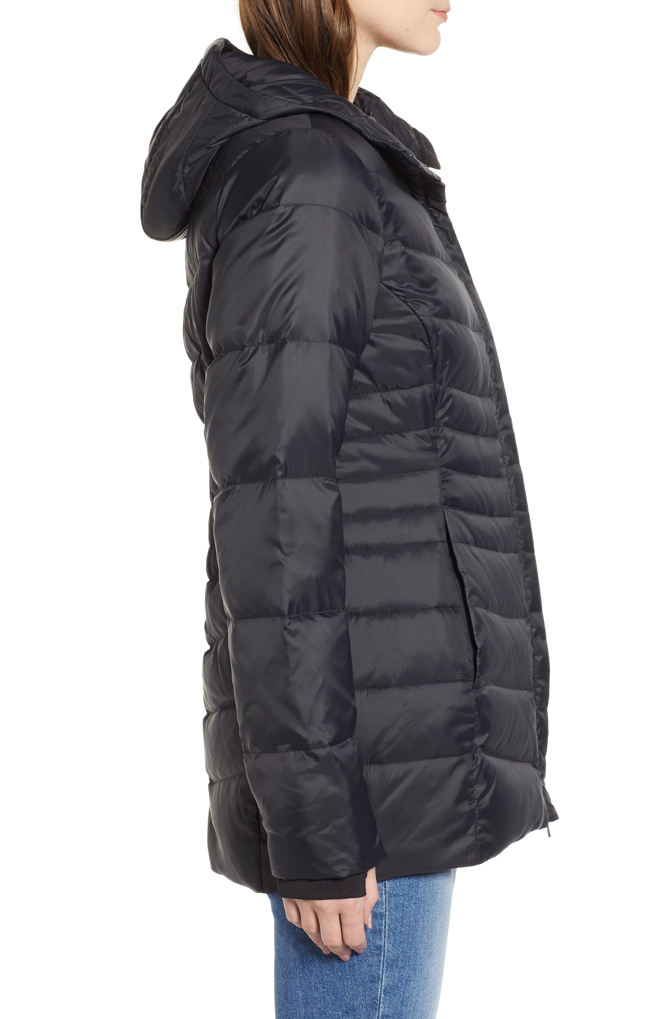 THE NORTH FACE, Aconcagua II 550 Fill Power Down Parka, Alternate thumbnail 3, color, 001