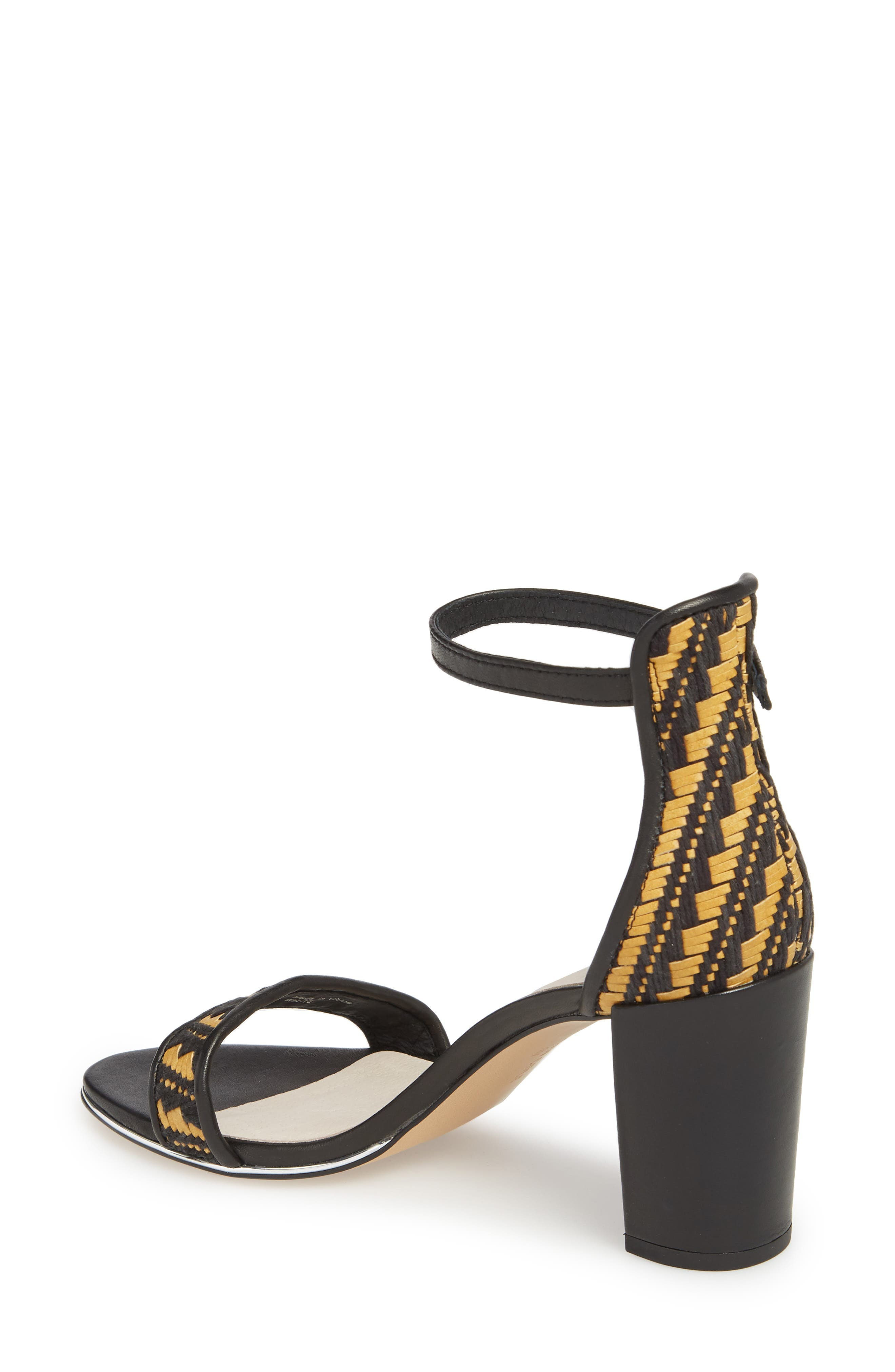 KENNETH COLE NEW YORK, 'Lex' Ankle Strap Sandal, Alternate thumbnail 2, color, 004