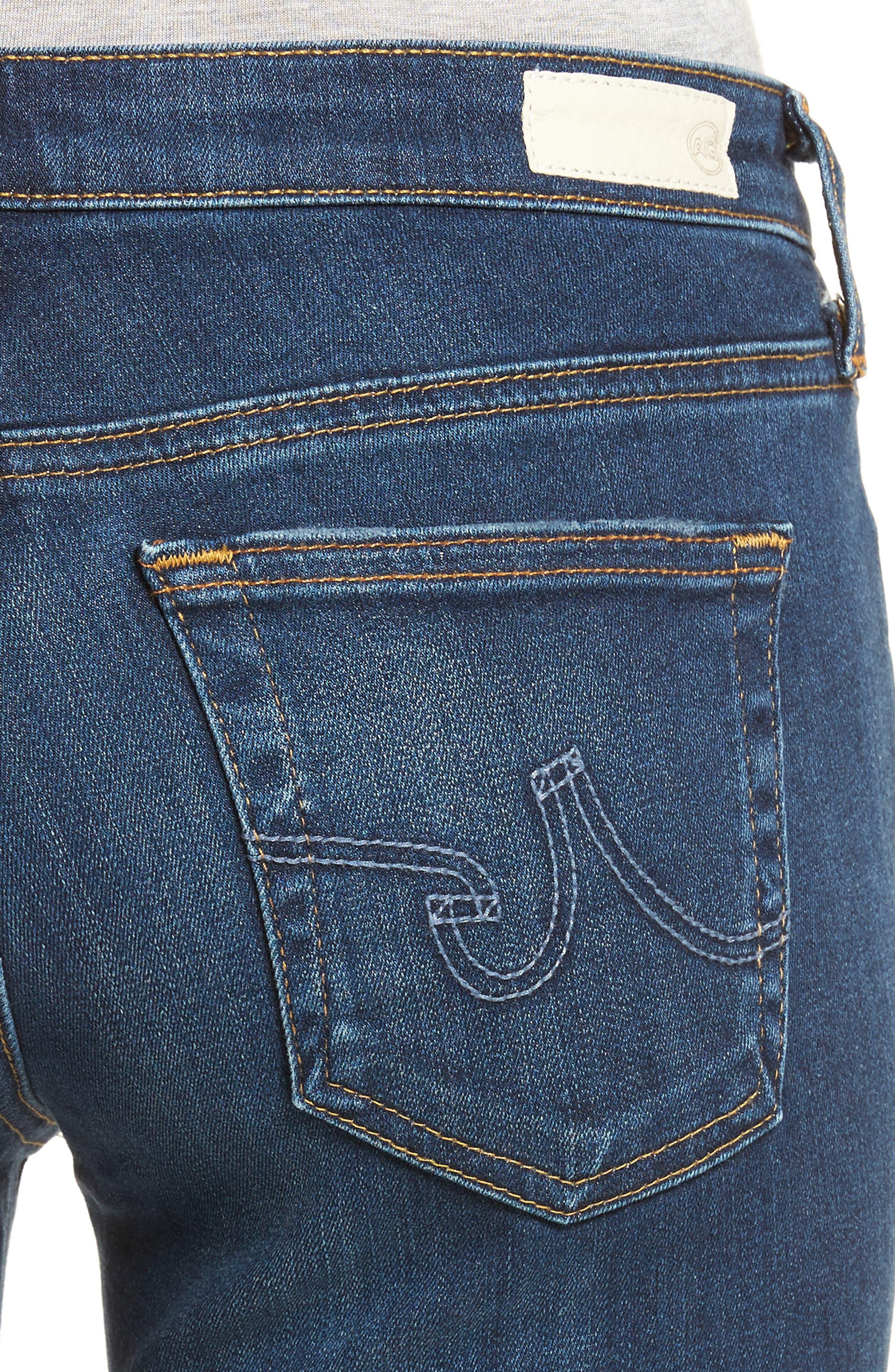 AG, The Legging Super Skinny Jeans, Alternate thumbnail 4, color, 404