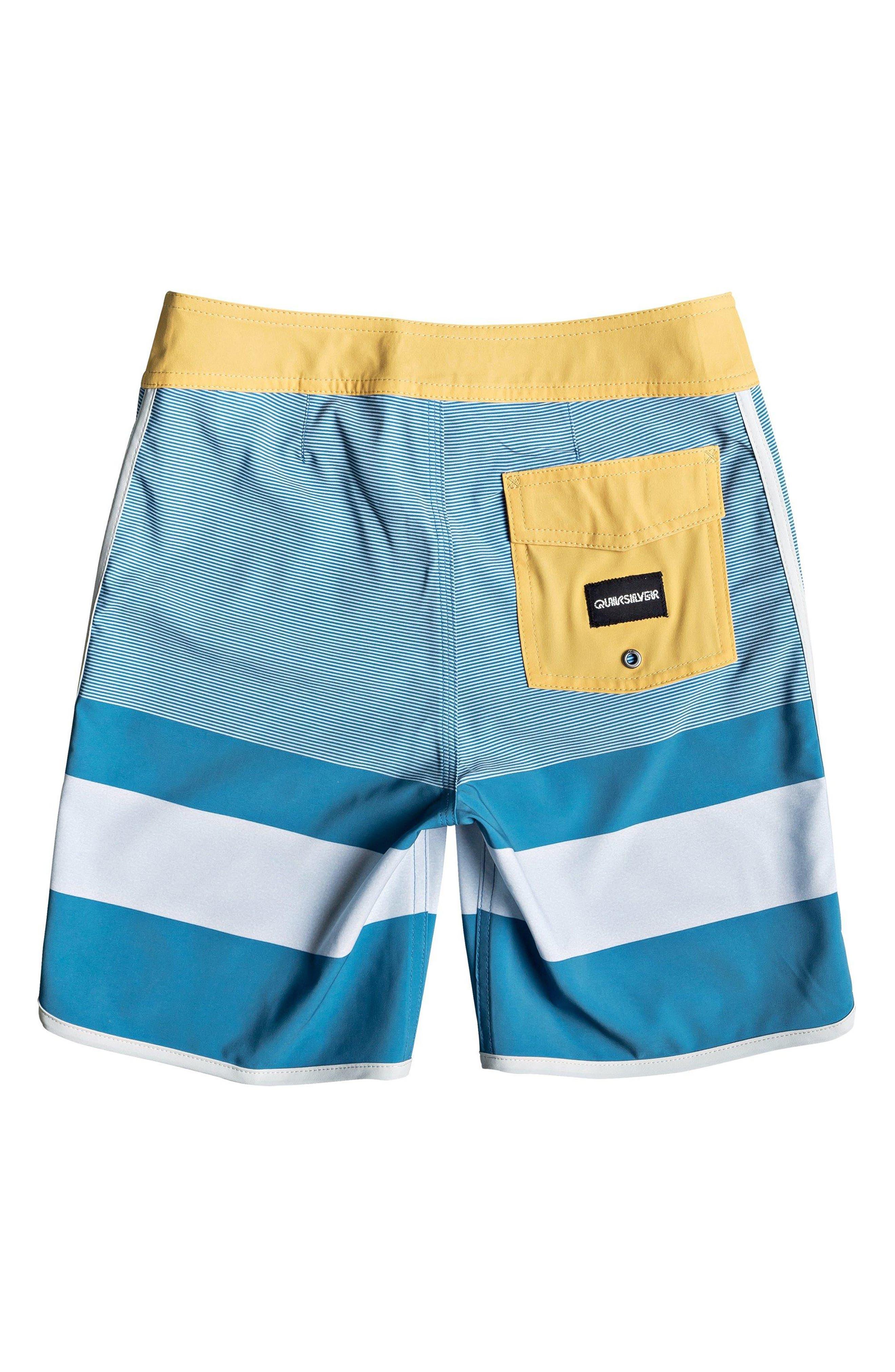 QUIKSILVER, Highline Tijuana Board Shorts, Alternate thumbnail 2, color, SOUTHERN OCEAN