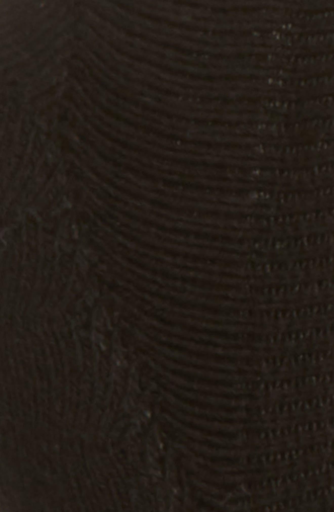 BOMBAS, Cushioned No-Show Socks, Alternate thumbnail 2, color, BLACK