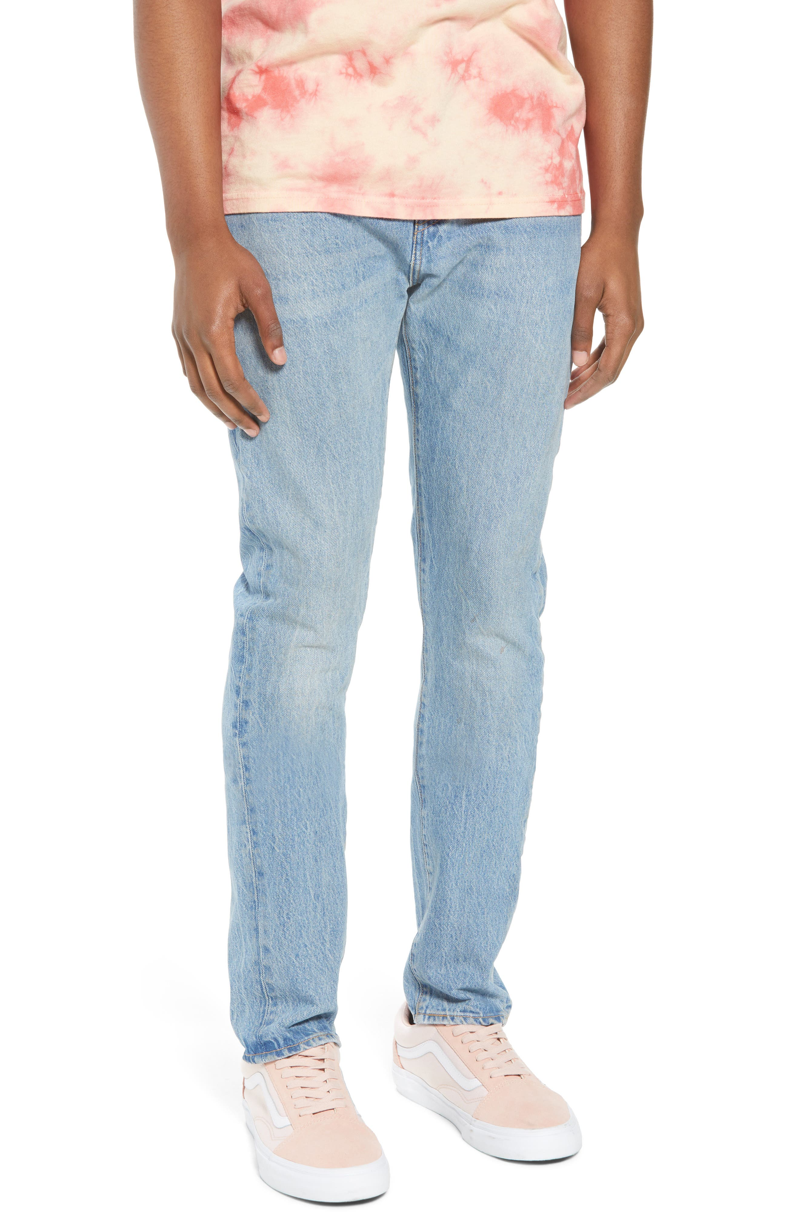 LEVI'S<SUP>®</SUP>, 510<sup>™</sup> Skinny Fit Jeans, Main thumbnail 1, color, MONKEY