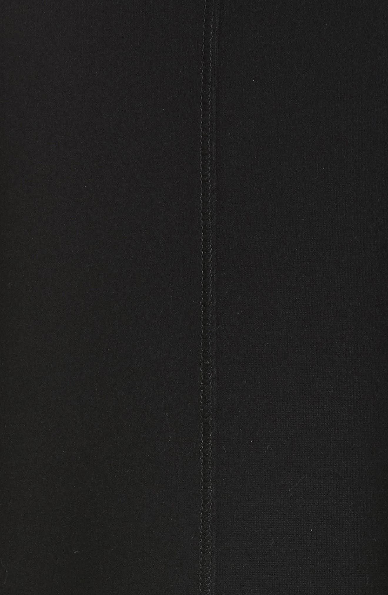 EILEEN FISHER, Zip Front Jacket, Alternate thumbnail 7, color, 001