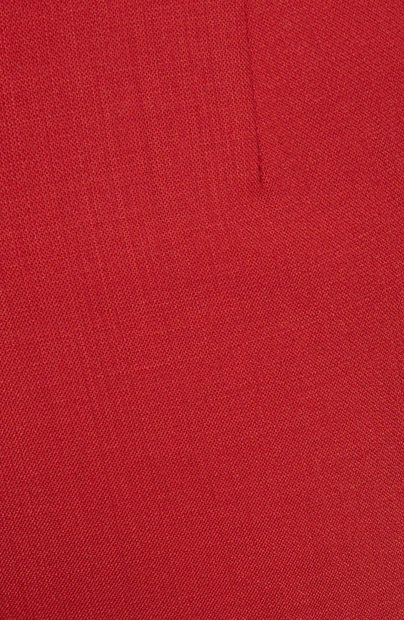 MAX MARA, Oscuro Stretch Wool Pants, Alternate thumbnail 5, color, 614