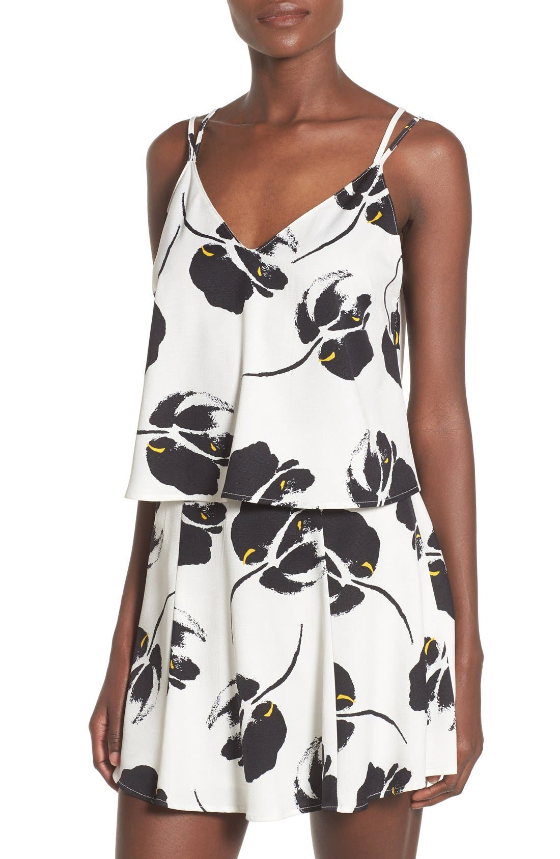 --- Lust Floral Print Camisole, Main, color, 100