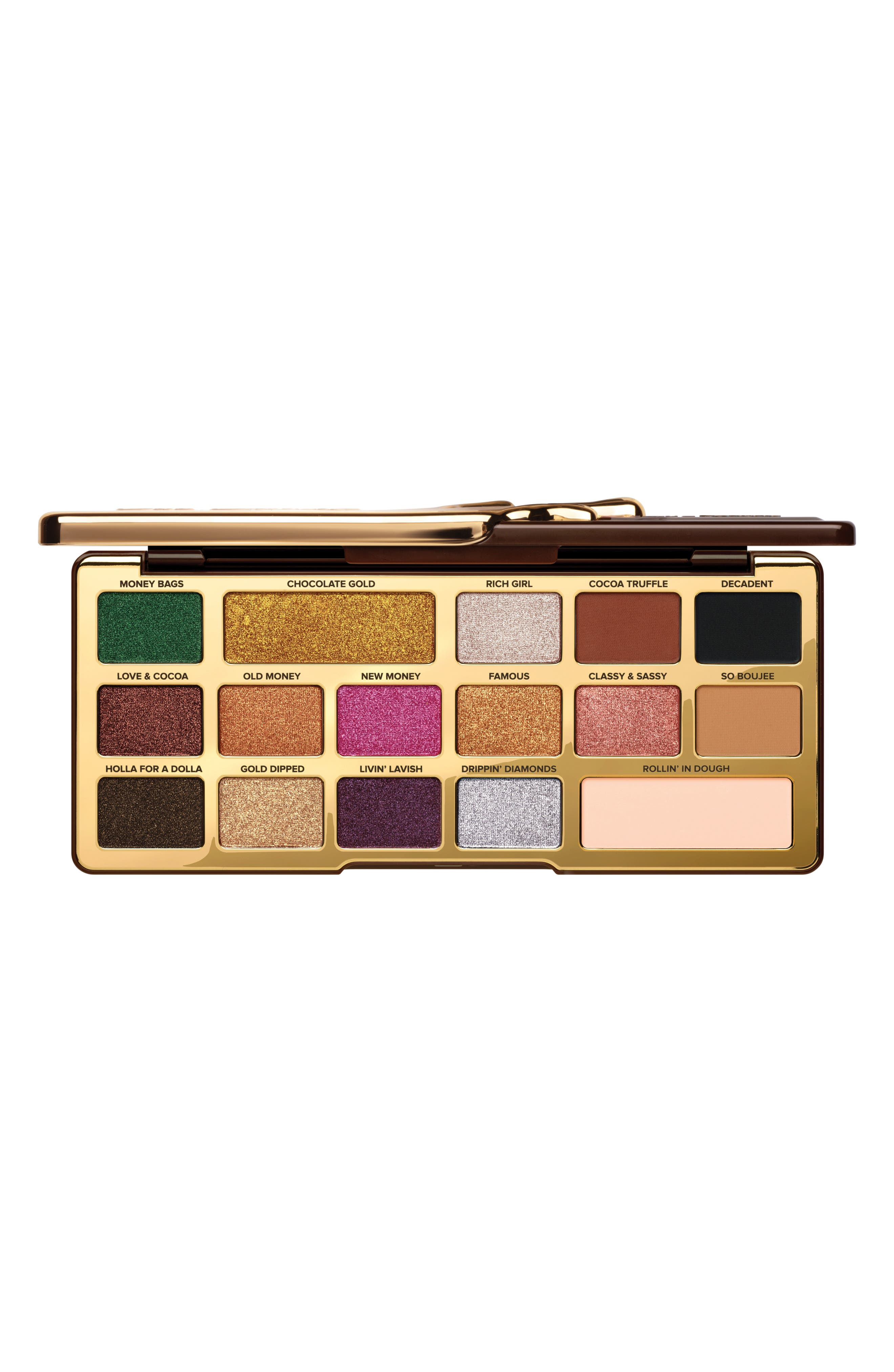 TOO FACED, Chocolate Gold Eyeshadow Palette, Main thumbnail 1, color, NO COLOR