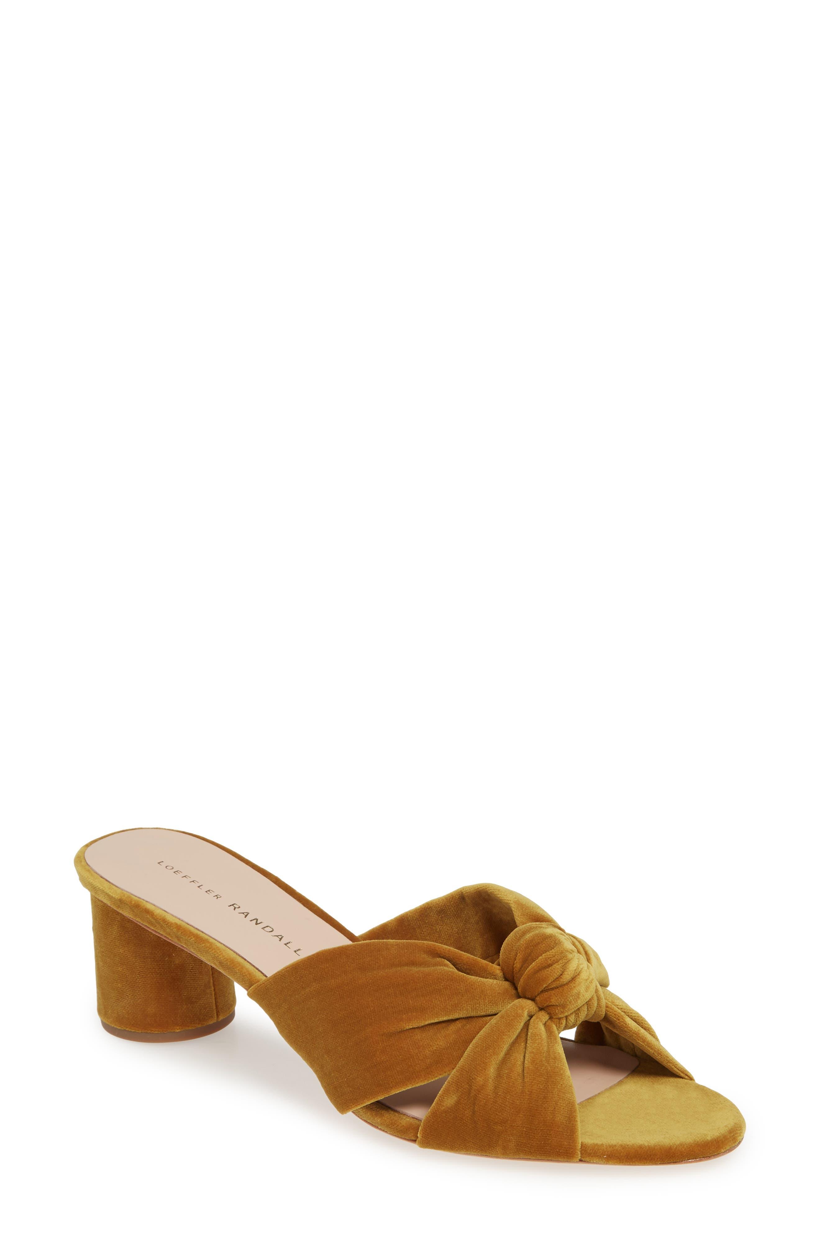 7fee233b09d1 Loeffler Randal Celeste Knotted Slide Sandal