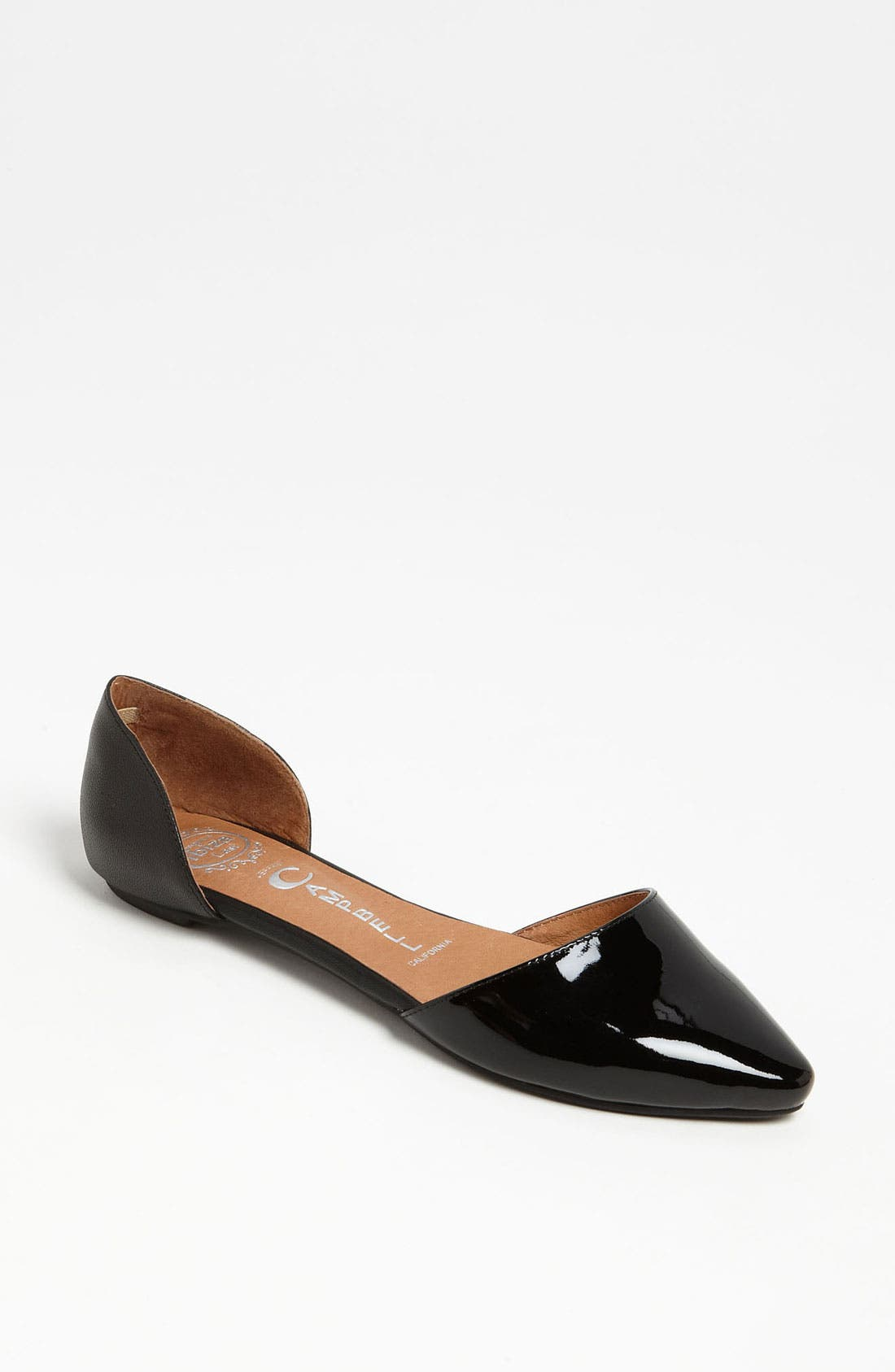 JEFFREY CAMPBELL, 'In Love' Flat, Main thumbnail 1, color, 002