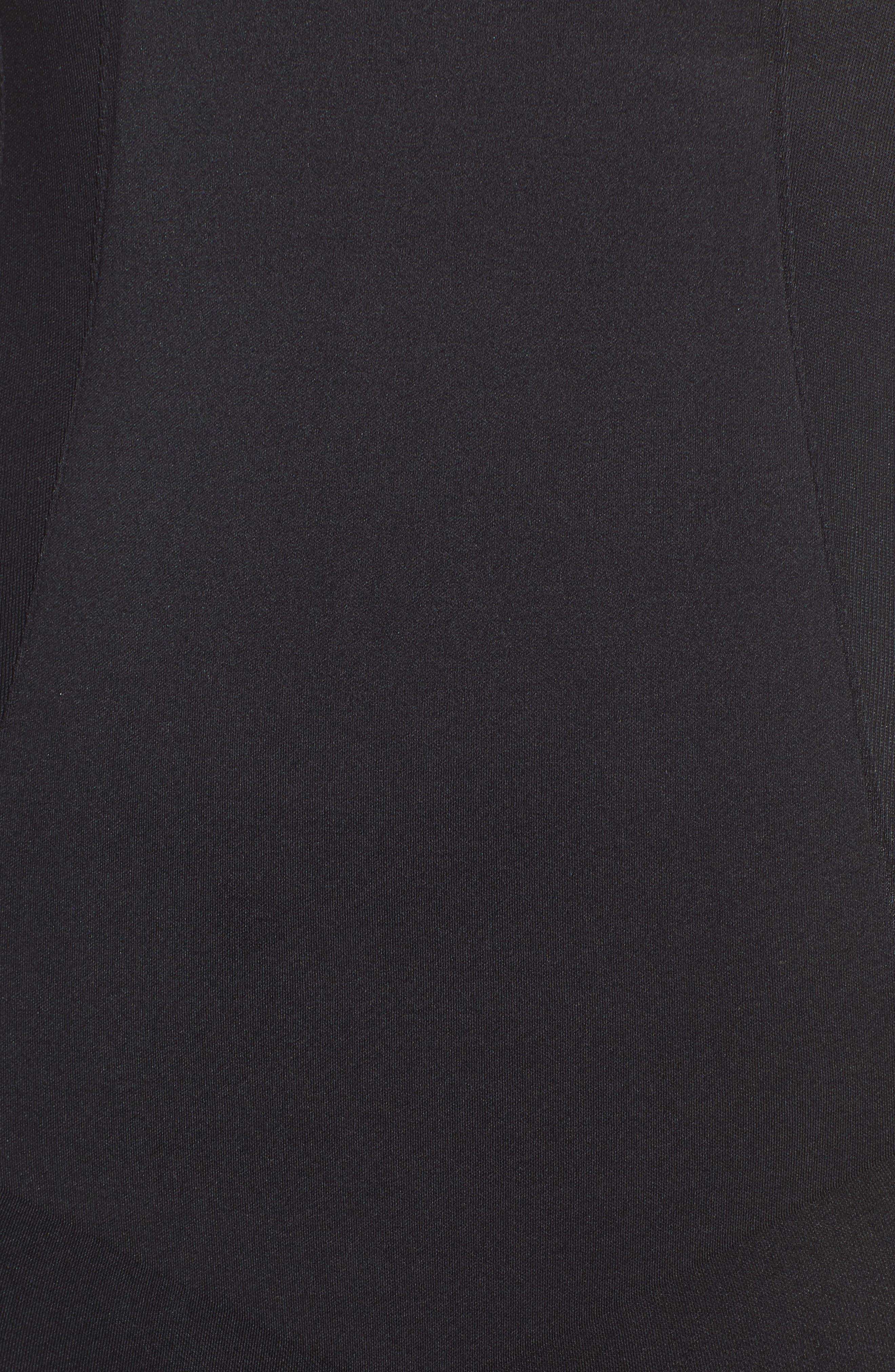 SPANX<SUP>®</SUP>, Oncore High Waist Mid Thigh Shaper, Alternate thumbnail 5, color, BLACK