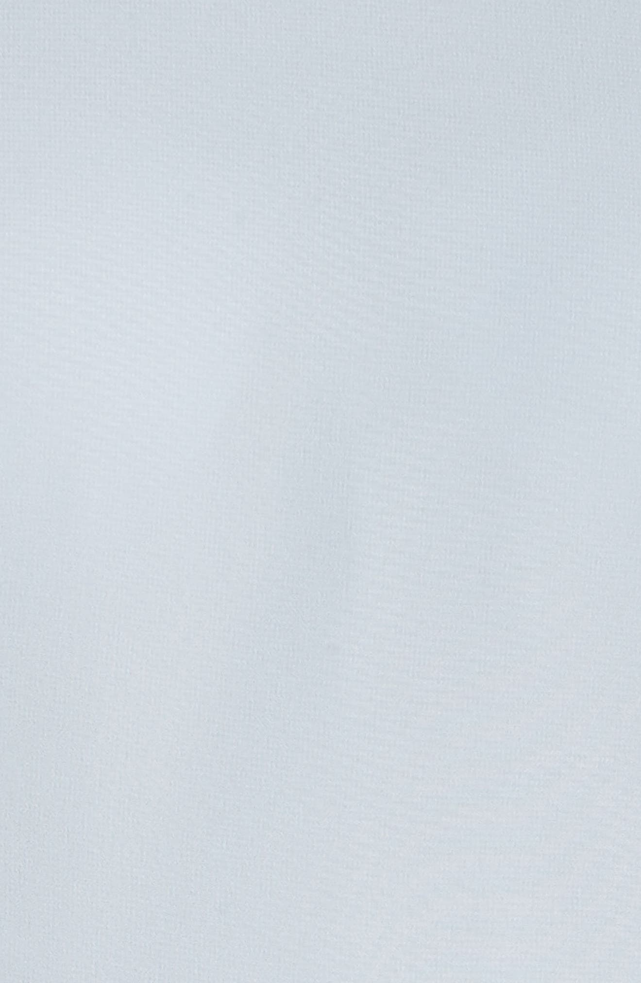 JENNY YOO, Kayla A-Line Halter Gown, Alternate thumbnail 7, color, WHISPER BLUE