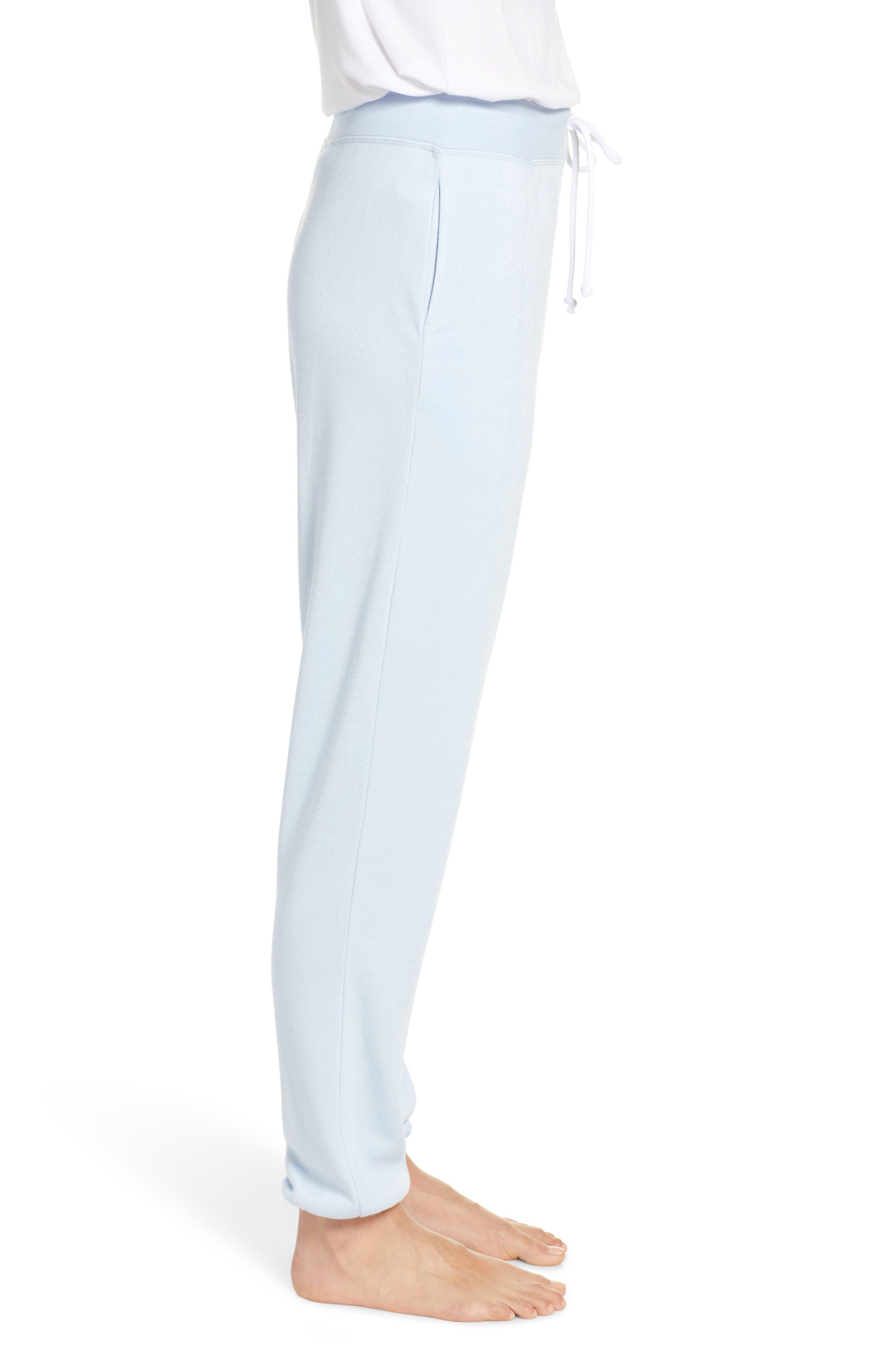 SOMETHING NAVY, Fleece Jogger Pants, Alternate thumbnail 4, color, 450