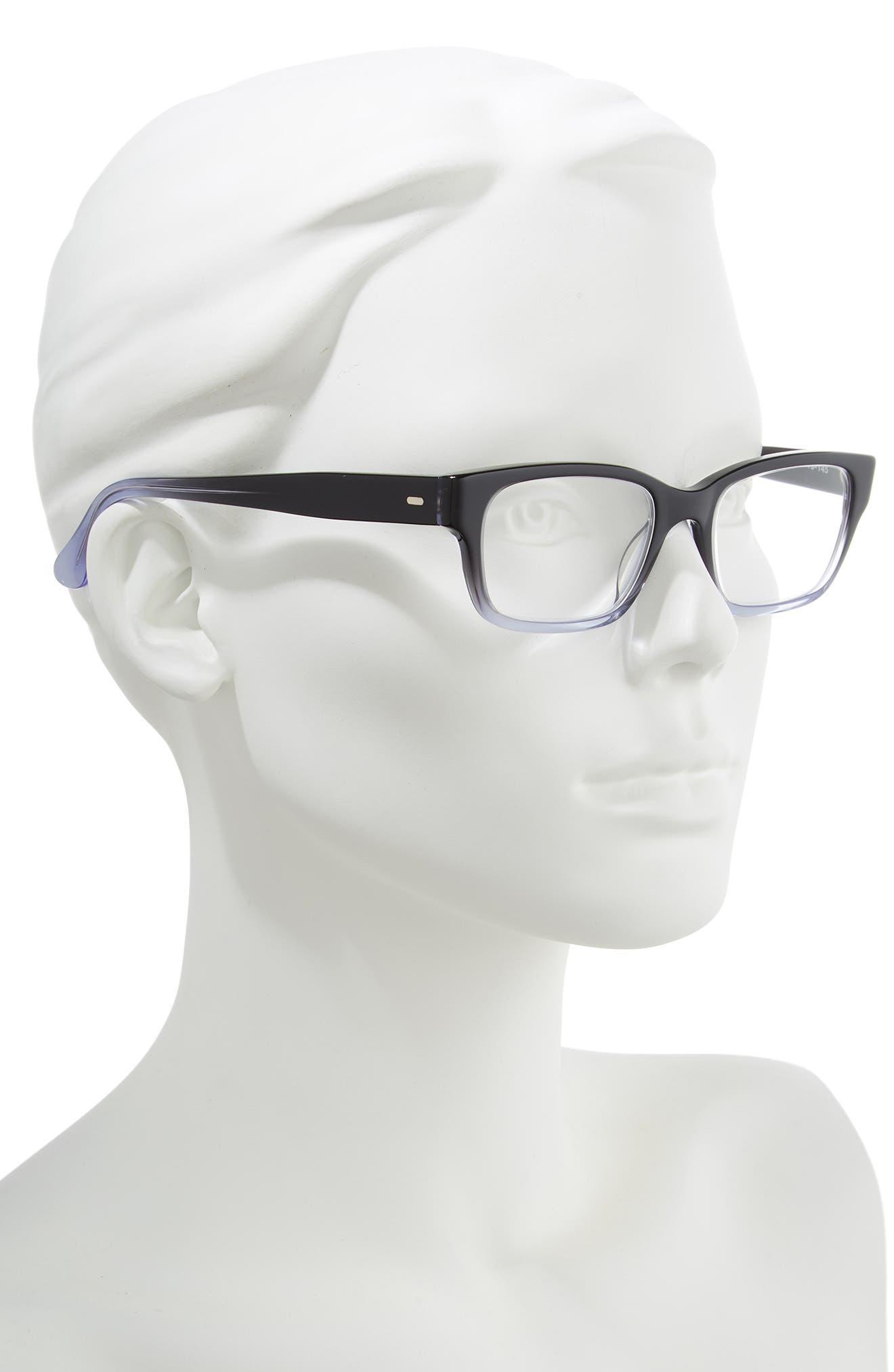 CORINNE MCCORMACK, 'Sydney' 51mm Reading Glasses, Alternate thumbnail 2, color, 006