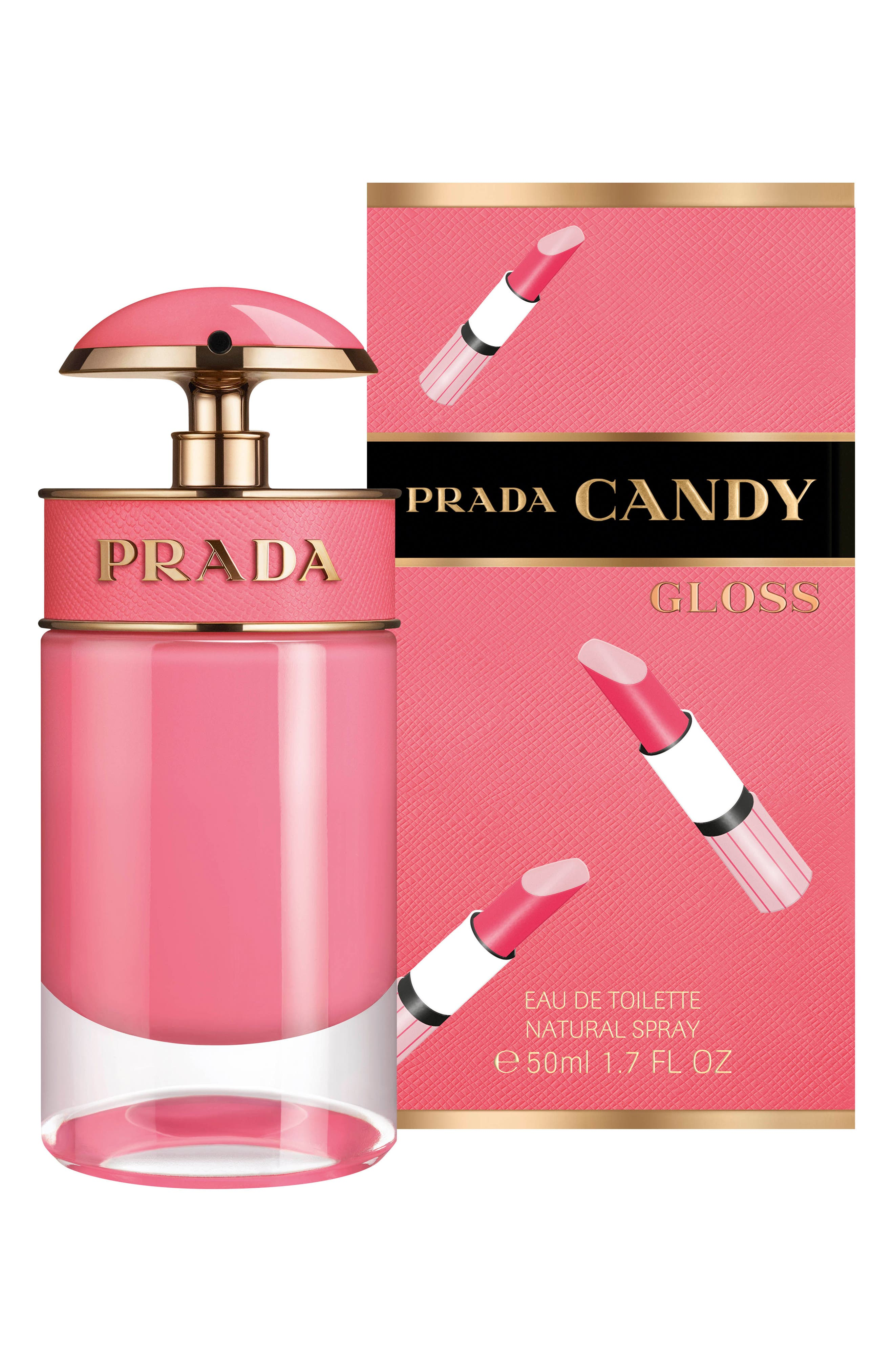 PRADA, Candy Gloss Eau de Toilette, Alternate thumbnail 2, color, NO COLOR
