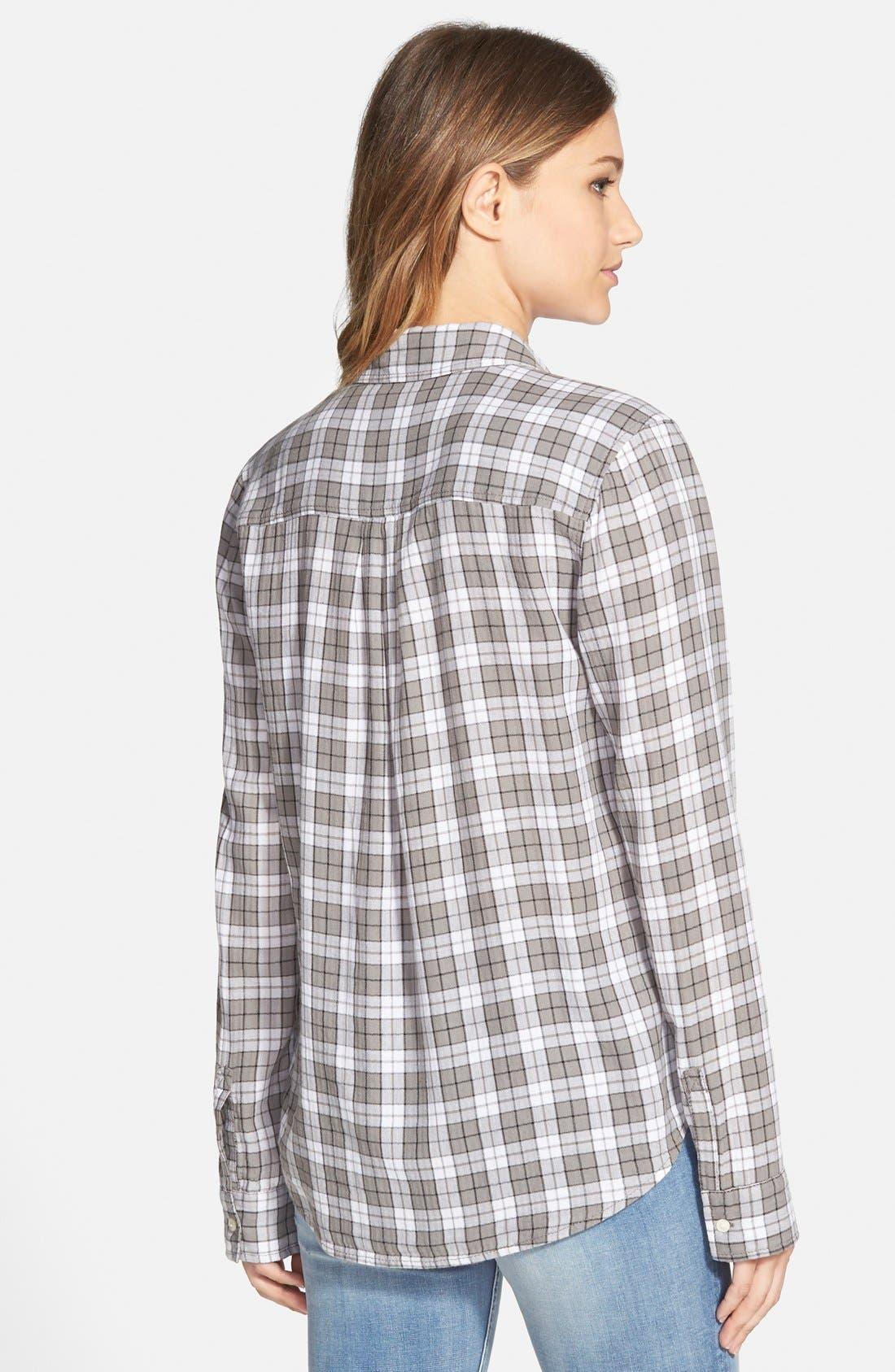 BP., Plaid Shirt, Alternate thumbnail 3, color, 030