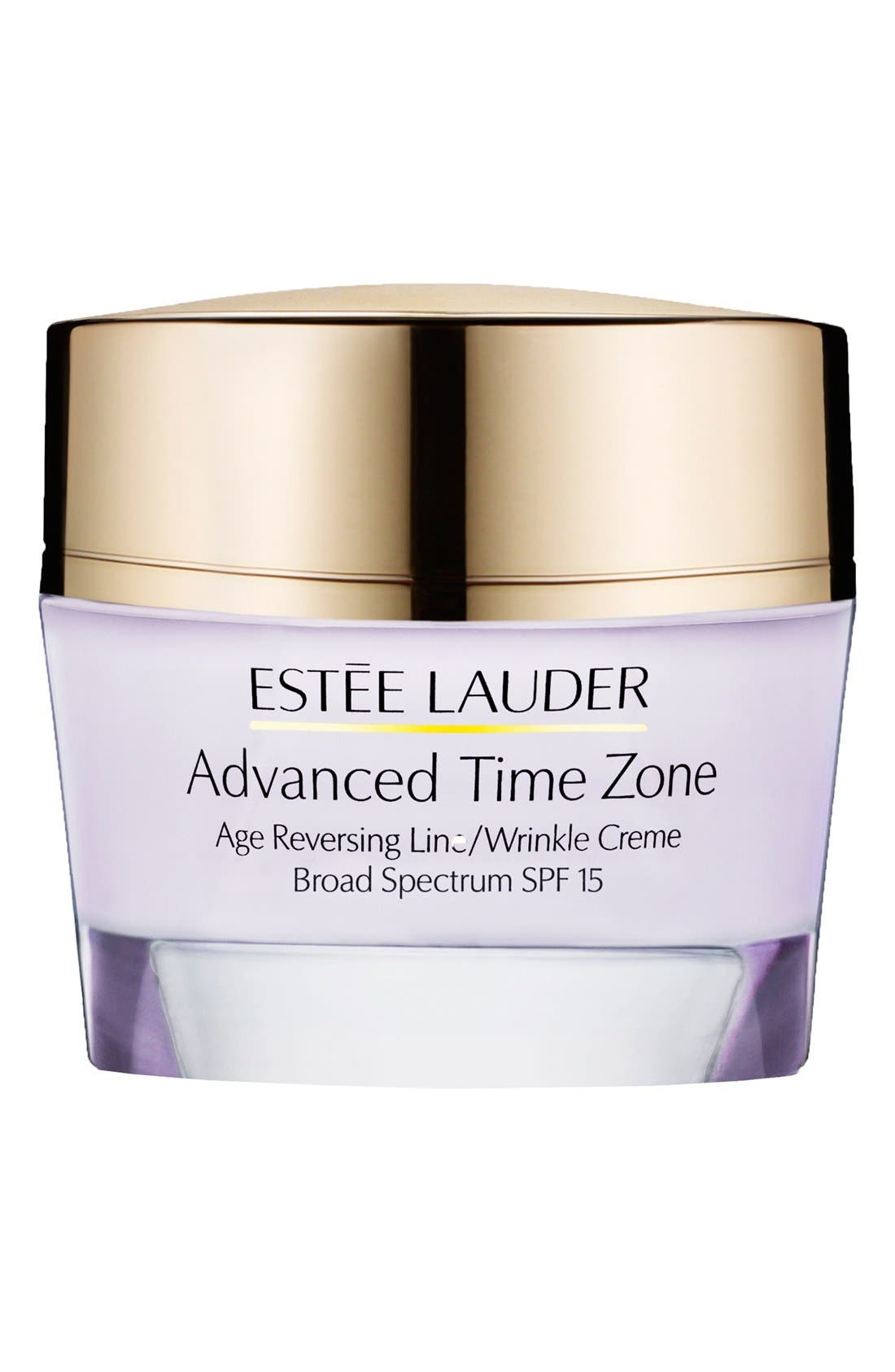 ESTÉE LAUDER, Advanced Time Zone Age Reversing Line/Wrinkle Creme Broad Spectrum SPF 15, Main thumbnail 1, color, NORMAL COMBINATION