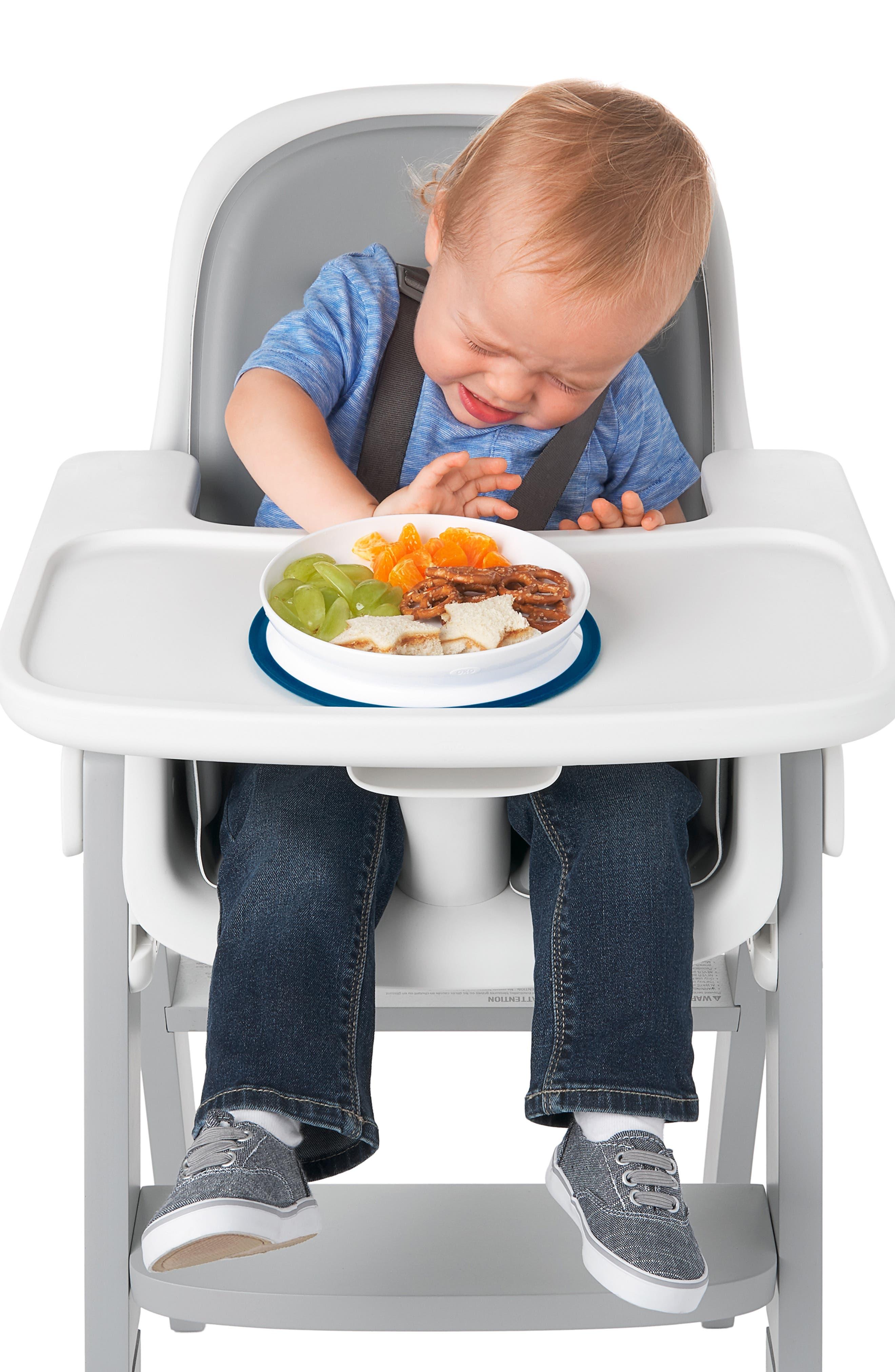 Infant Oxo Tot Stick  Stay Plate  Bowl Set Size One Size  Blue
