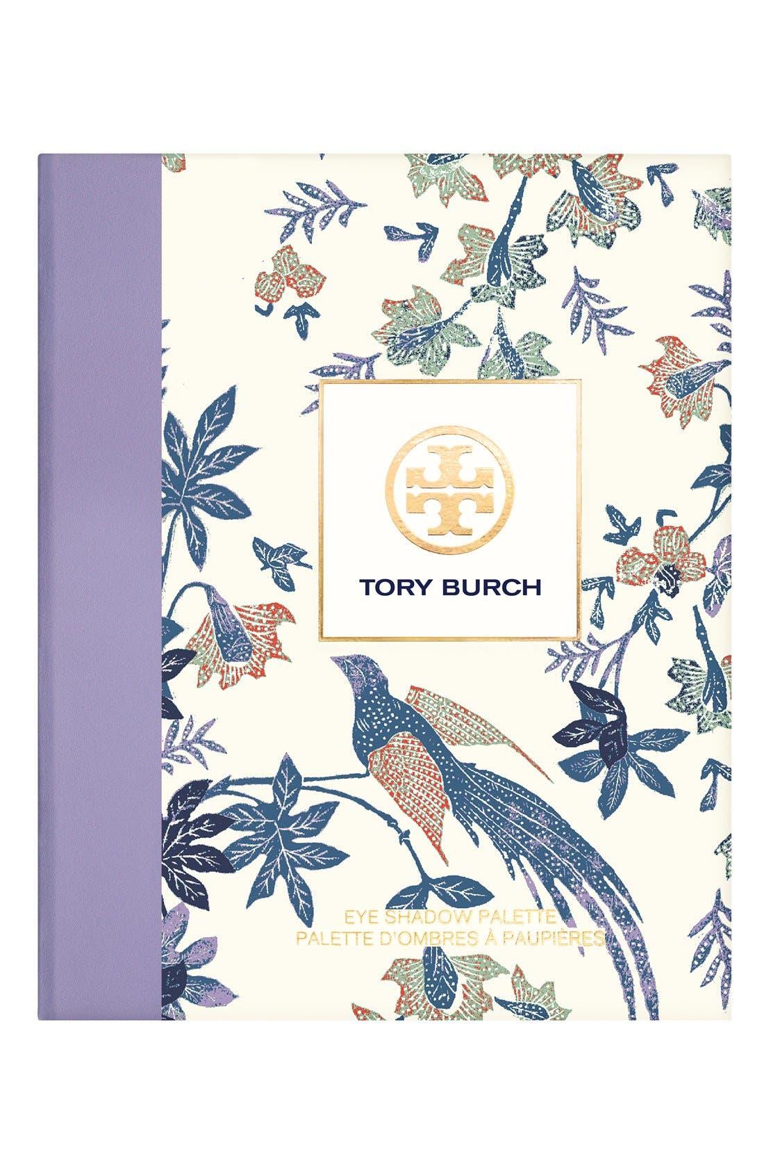 TORY BURCH, 'Pas du Tout' Eyeshadow Palette, Alternate thumbnail 5, color, 000