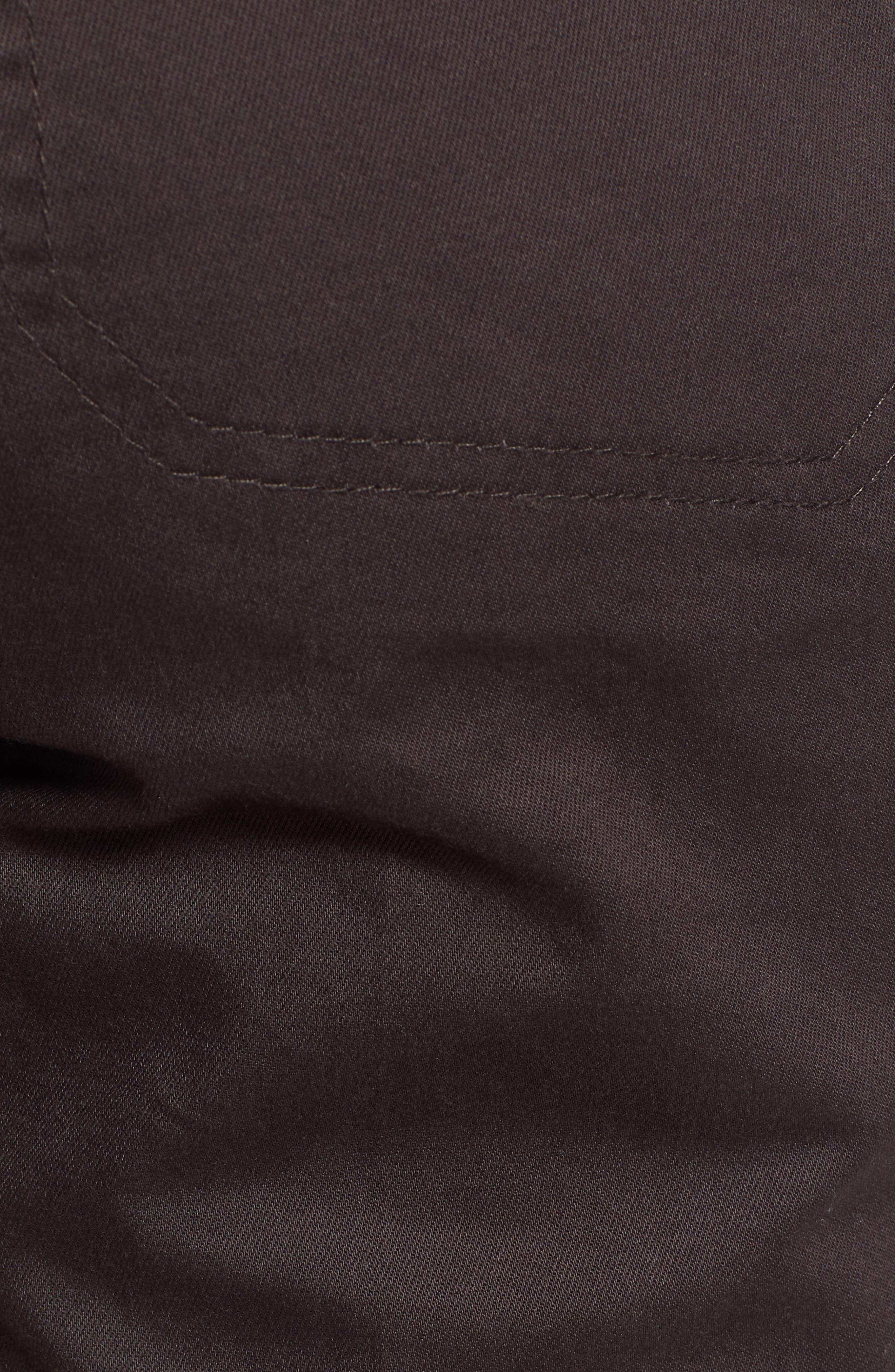 WIT & WISDOM, Flex-ellent High Waist Cargo Pants, Alternate thumbnail 6, color, ESPRESSO