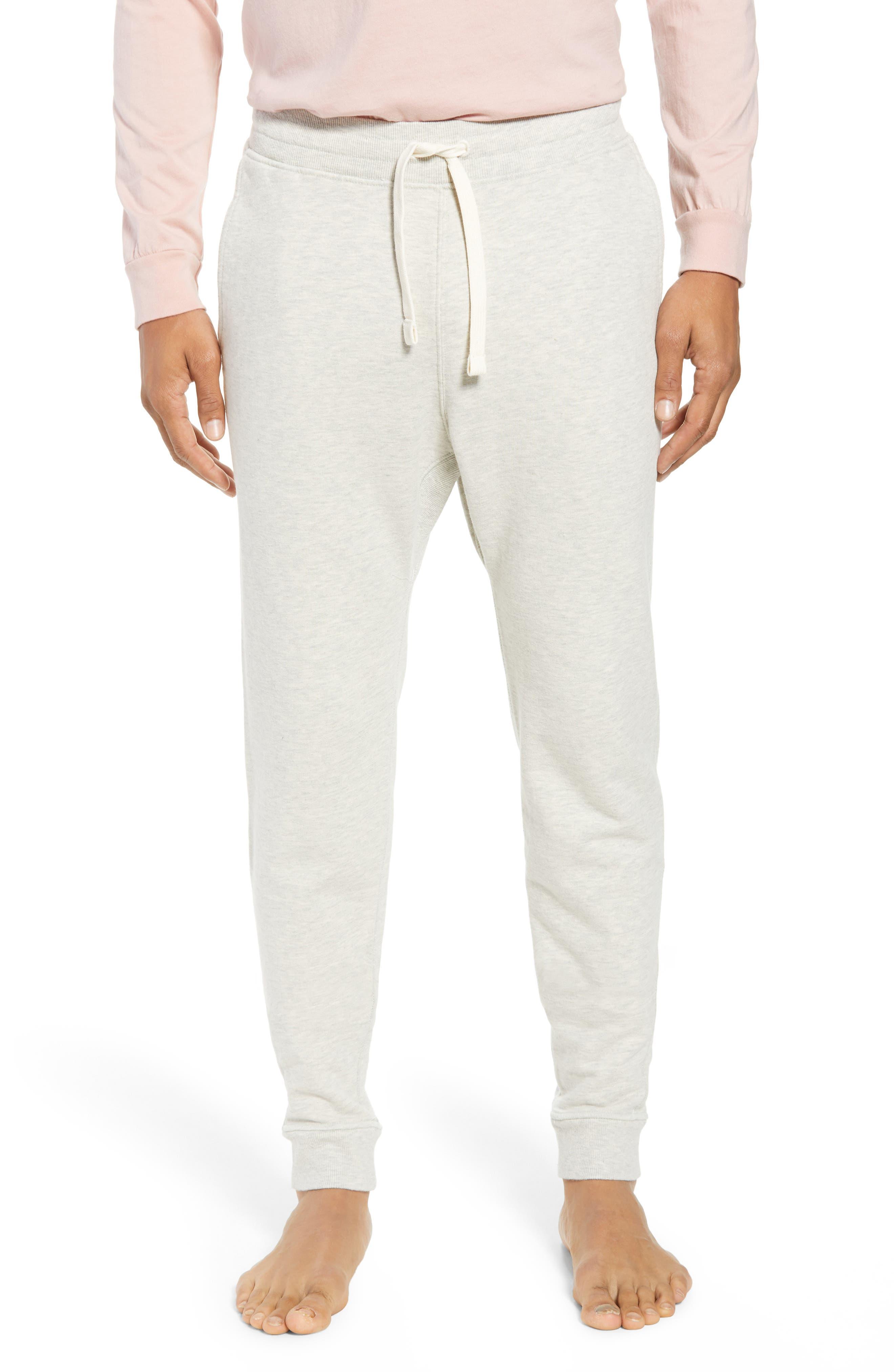 RICHER POORER, Cotton Lounge Pants, Main thumbnail 1, color, OATMEAL
