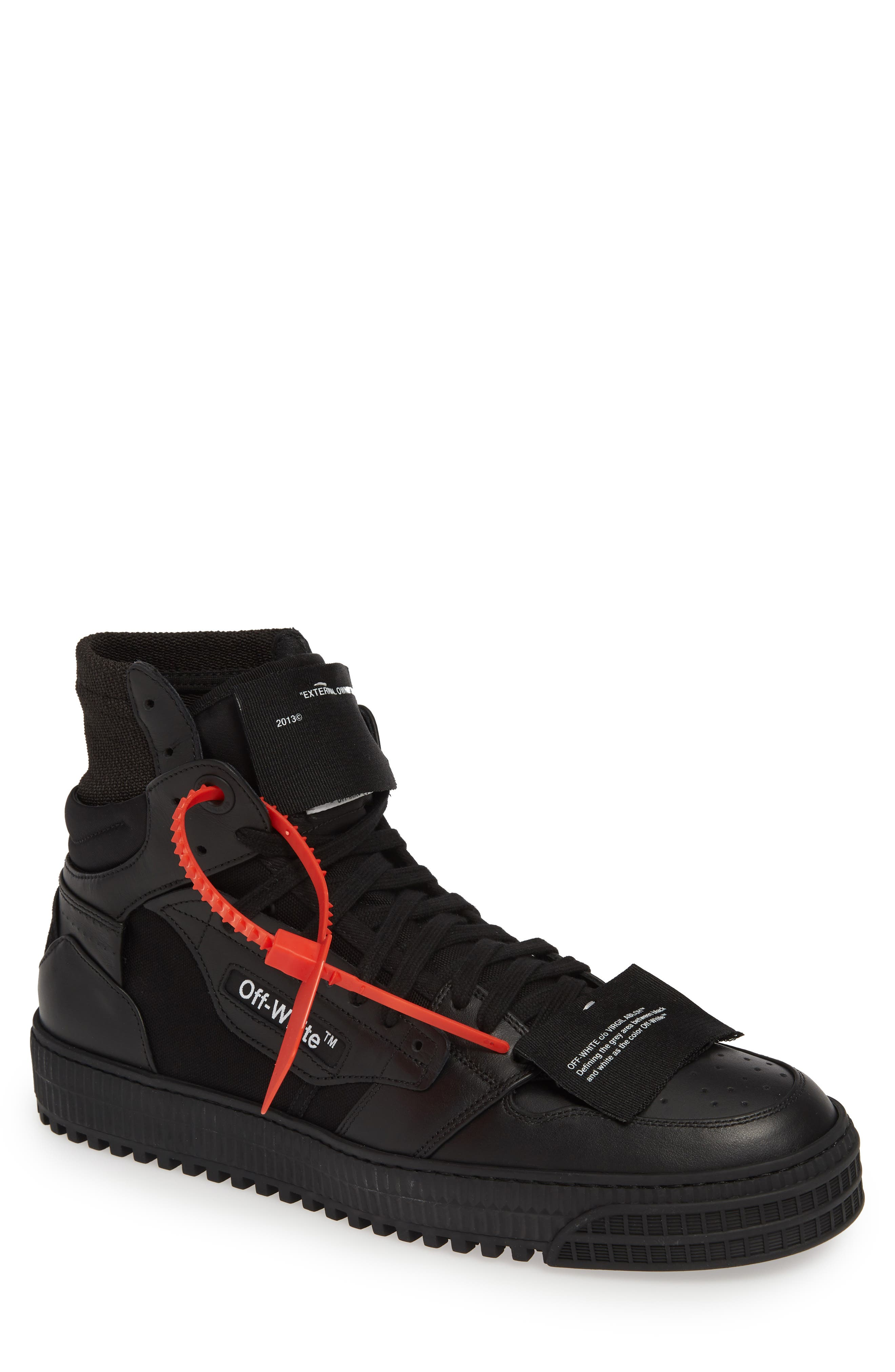 OFF-WHITE Off Court Sneaker, Main, color, BLACK