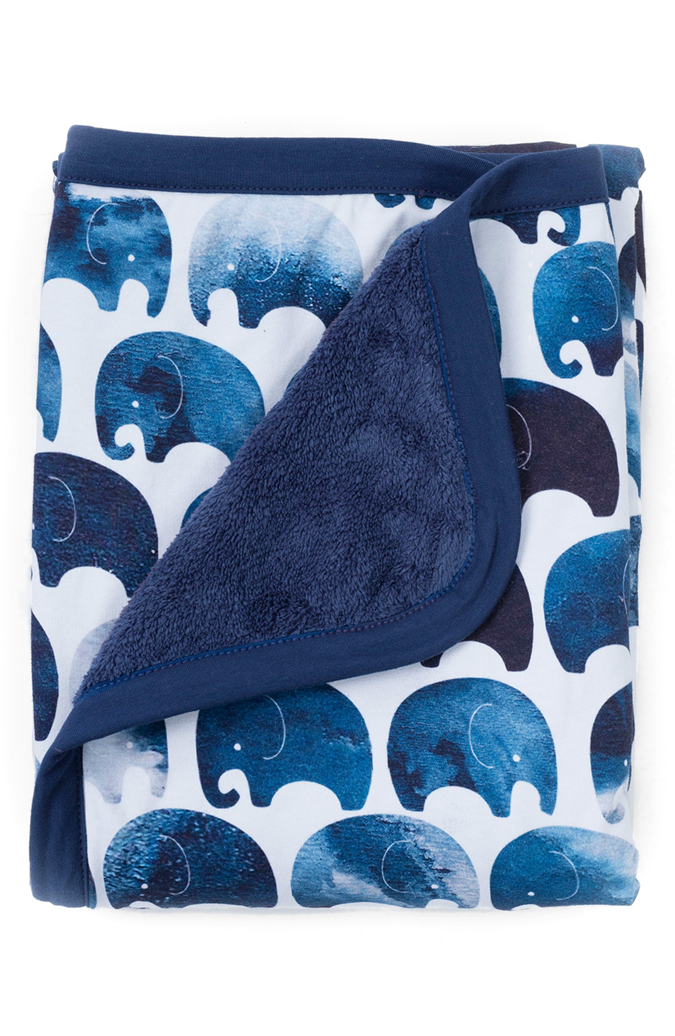OILO, Elefant Cuddle Blanket, Main thumbnail 1, color, ELEFANT