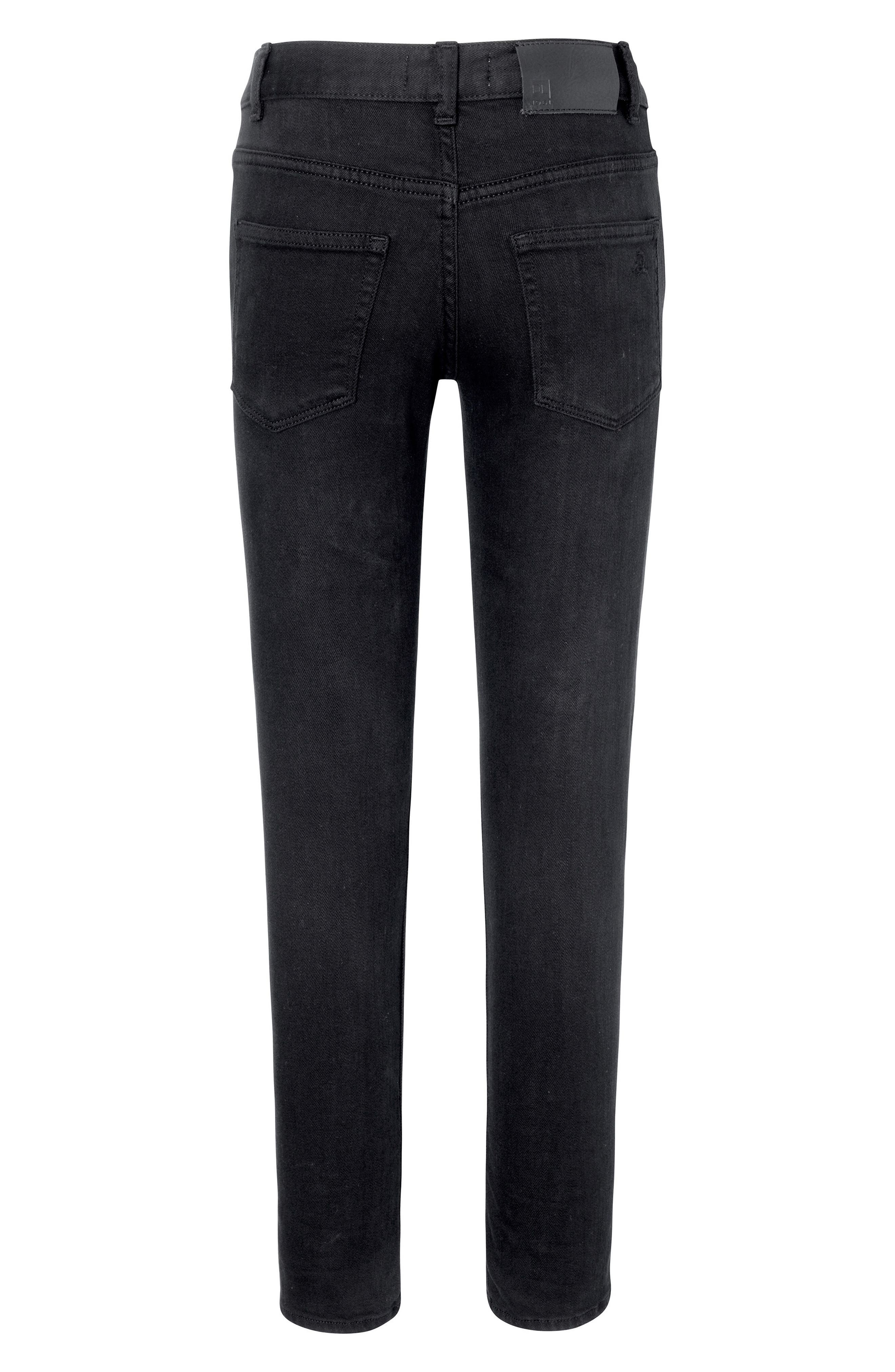 DL1961, Zane Super Skinny Fit Jeans, Alternate thumbnail 2, color, BAE