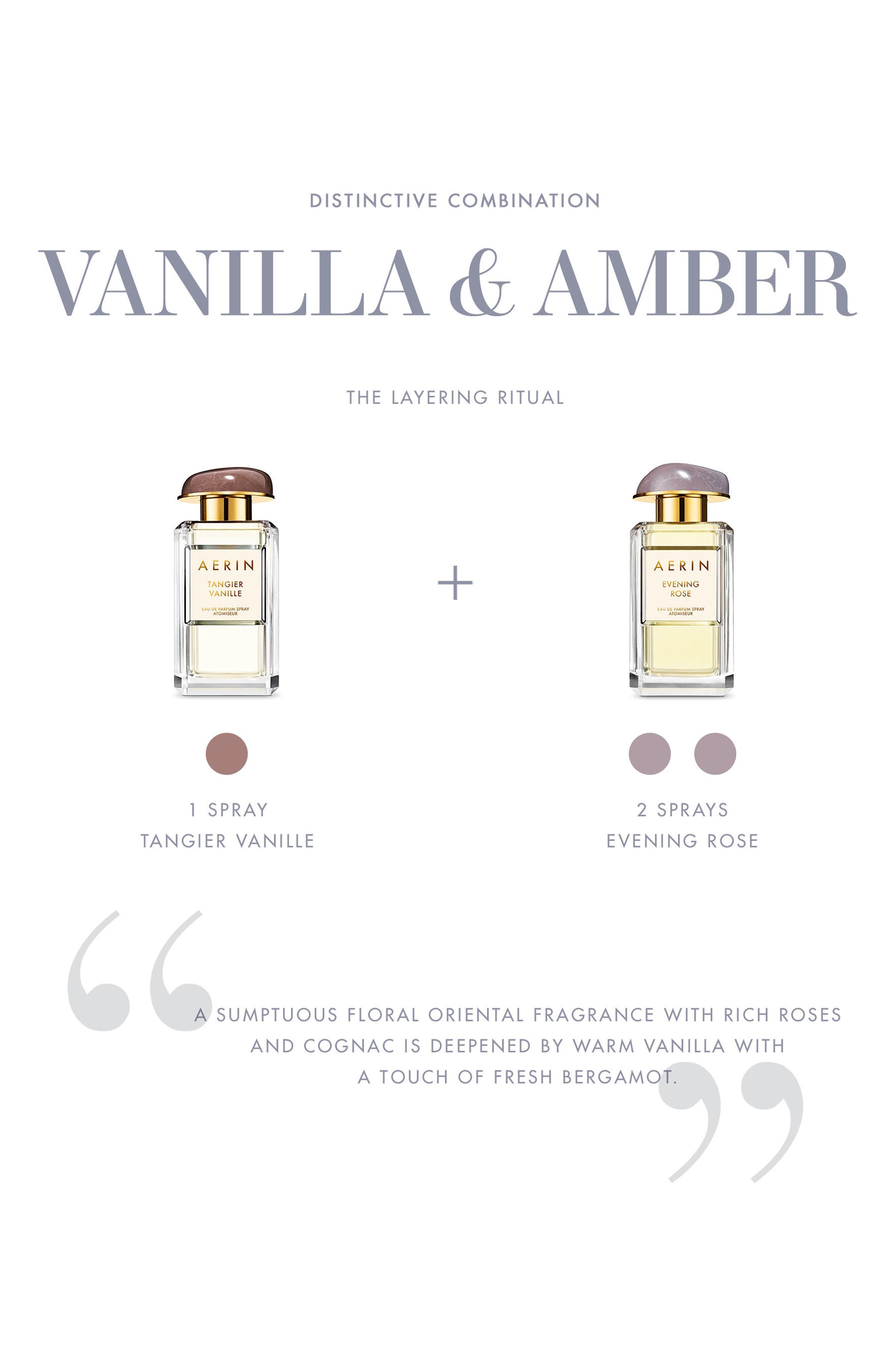 ESTÉE LAUDER, AERIN Beauty Tangier Vanille Eau de Parfum Spray, Alternate thumbnail 3, color, NO COLOR