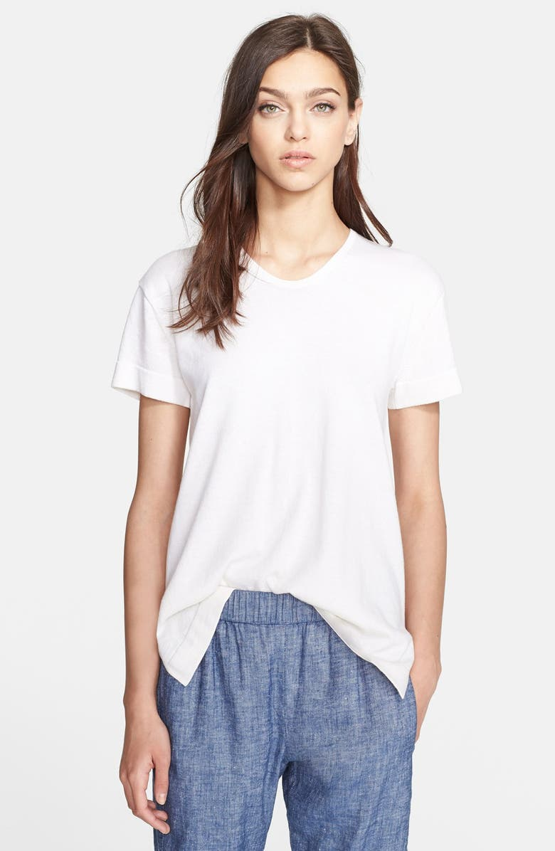 73b83663d07 Theory 'Riviera' Cotton & Cashmere Tee   Nordstrom