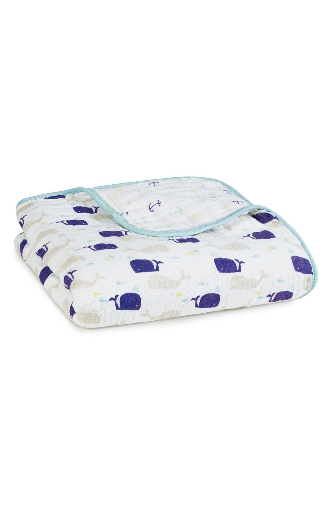 ADEN + ANAIS, Classic Dream Blanket<sup>™</sup>, Main thumbnail 1, color, HIGH SEAS