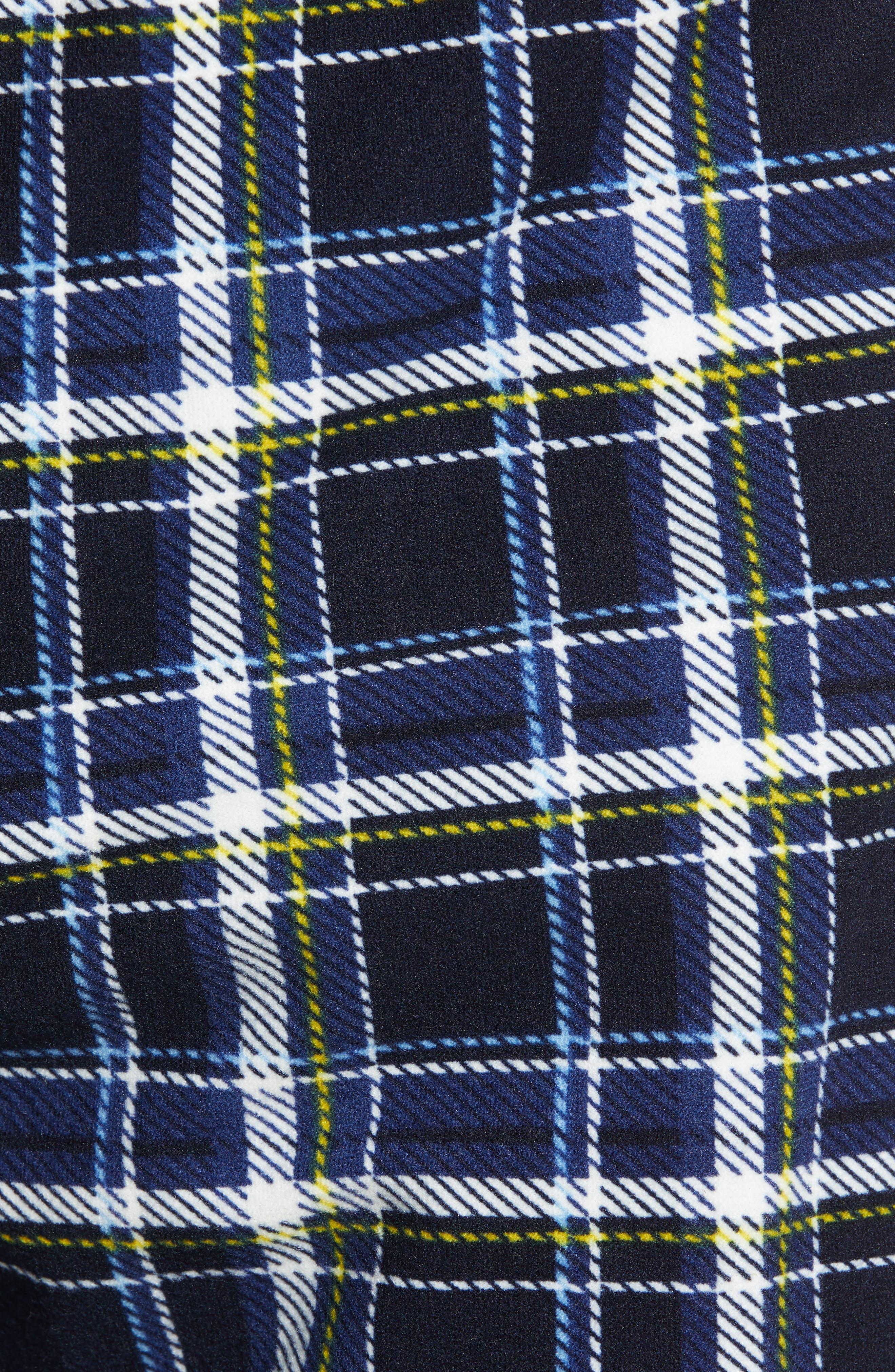 MAJESTIC INTERNATIONAL, Take It Outside 2-Piece Pajamas, Alternate thumbnail 5, color, BLUE