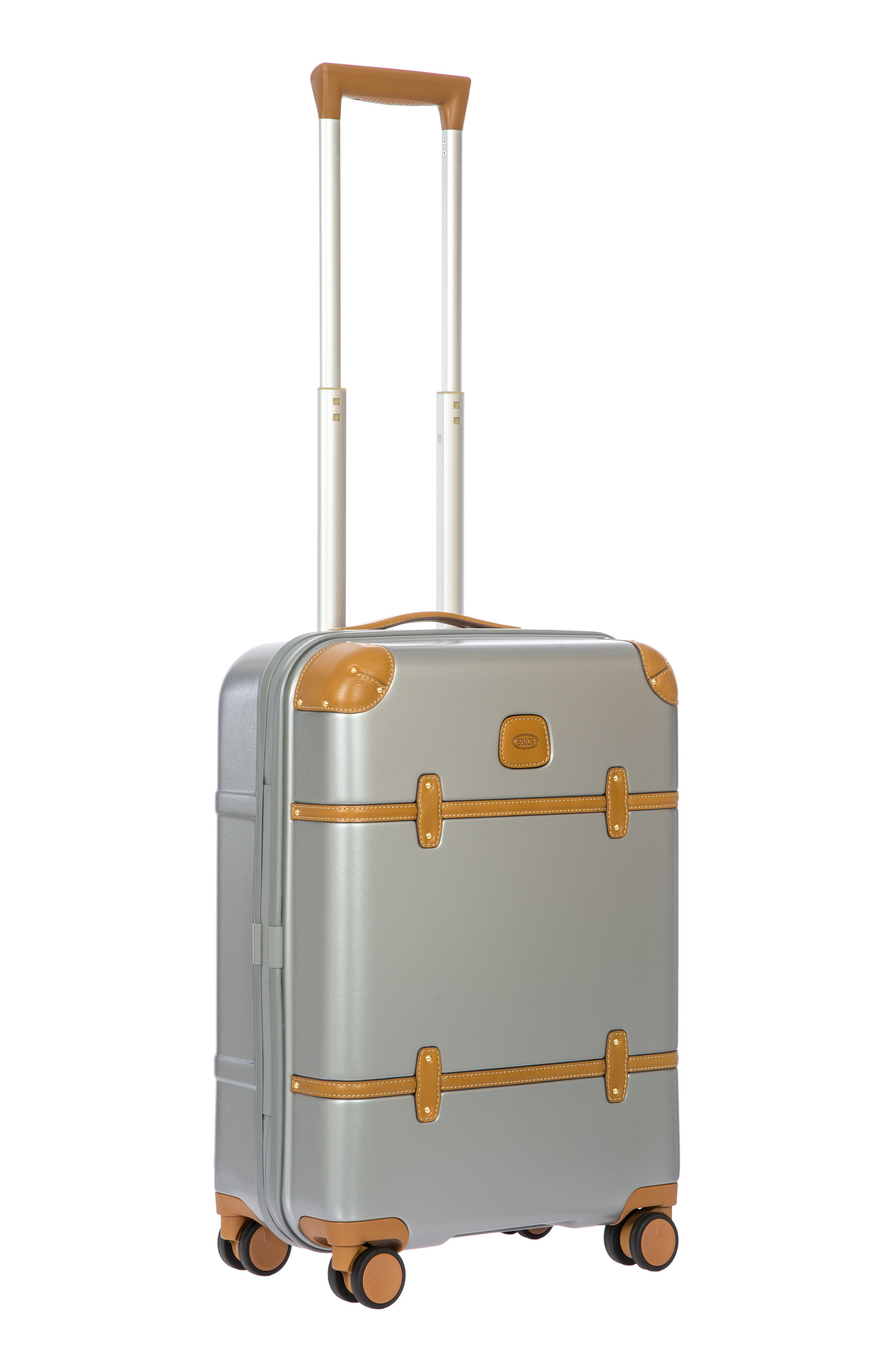 BRIC'S, Bellagio 2.0 21-Inch Rolling Carry-On, Alternate thumbnail 6, color, SILVER