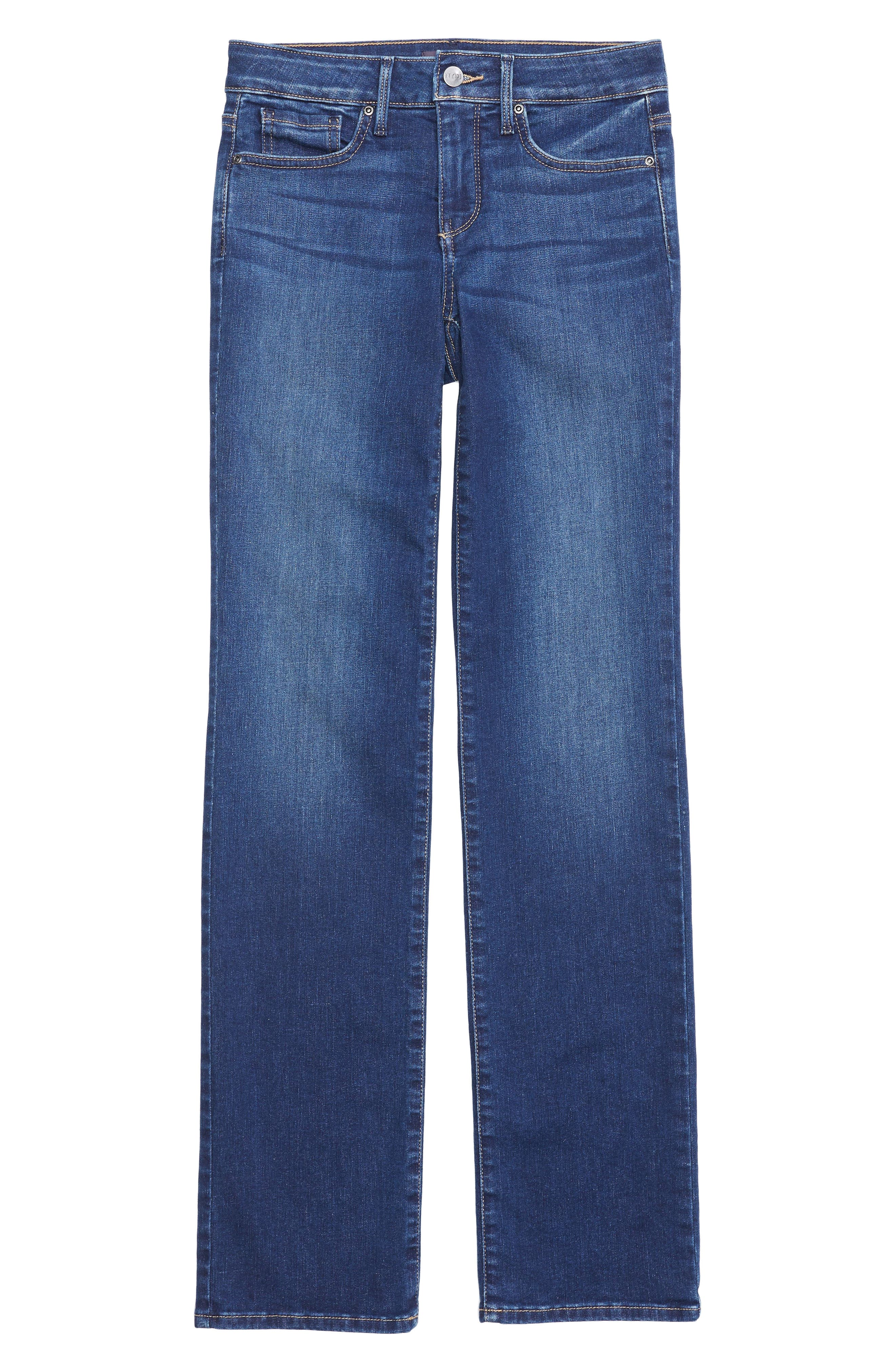 NYDJ, Marilyn Stretch Straight Leg Jeans, Alternate thumbnail 5, color, 405