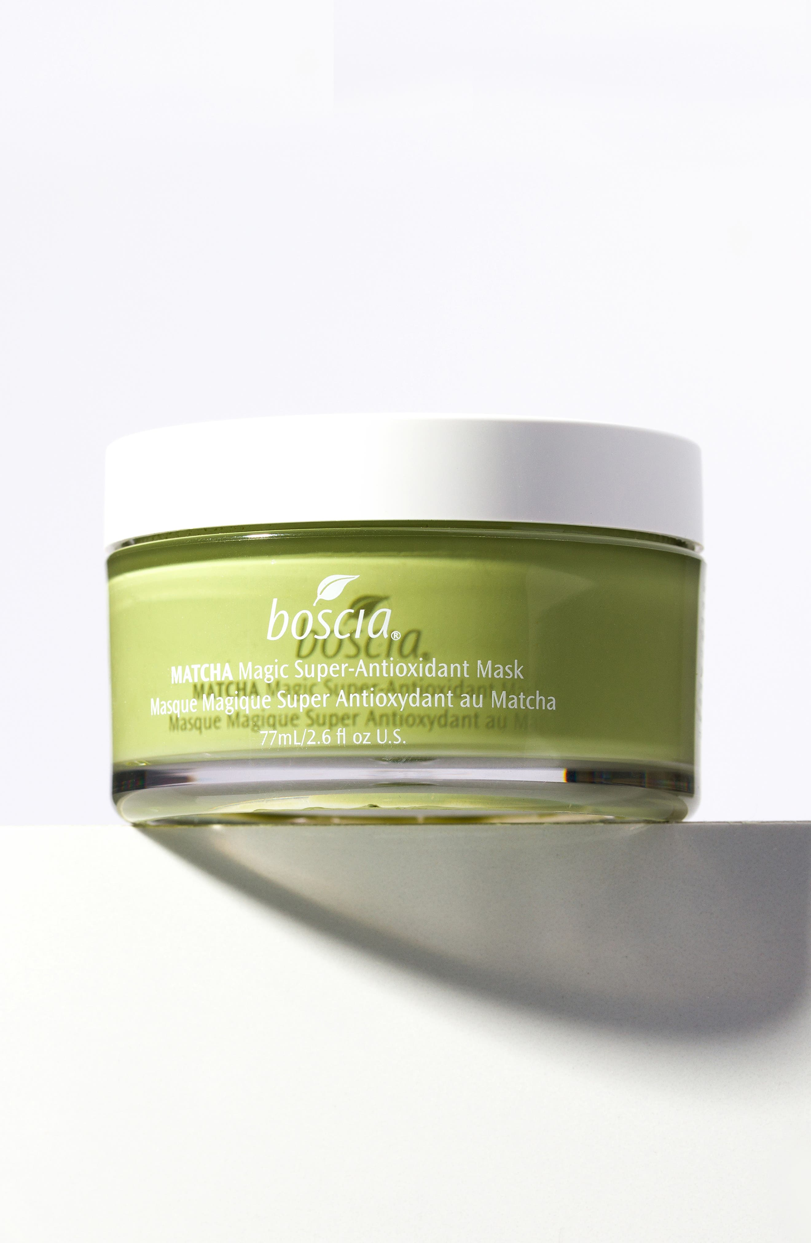 BOSCIA, Matcha Magic Super-Antioxidant Mask, Alternate thumbnail 7, color, NO COLOR