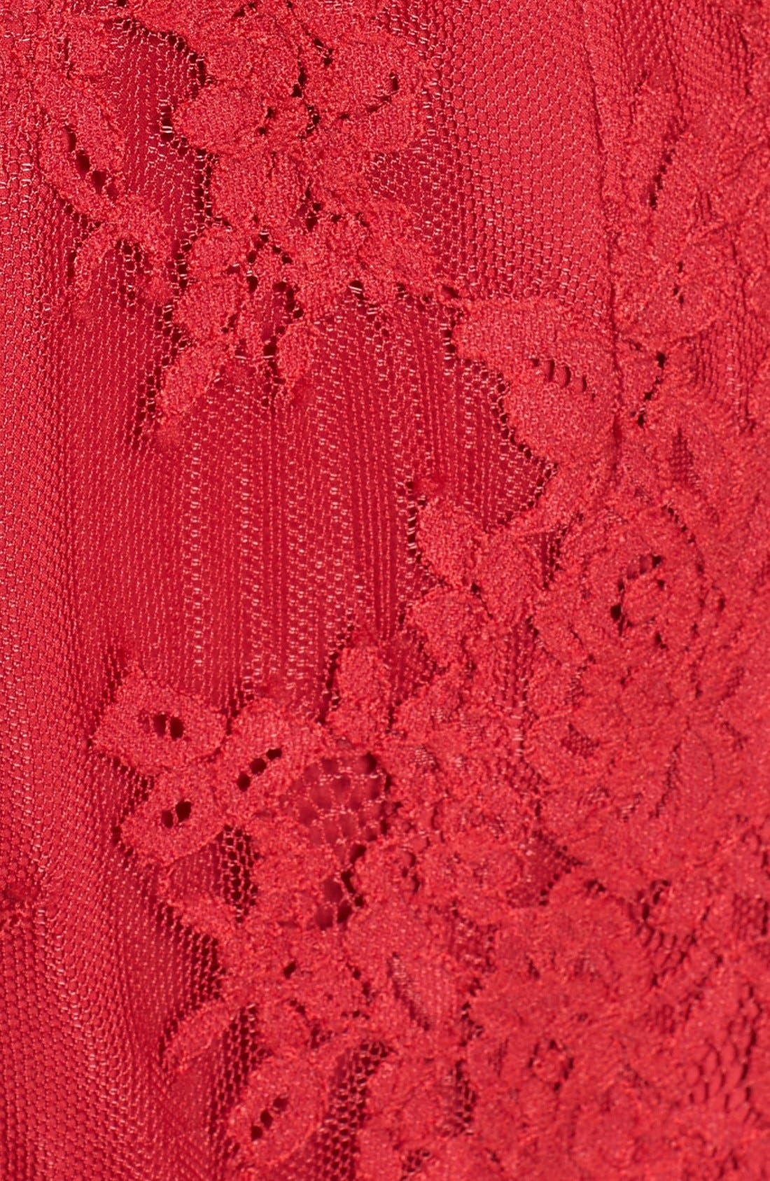 NBD, 'Azealia' Lace Romper, Alternate thumbnail 5, color, 610