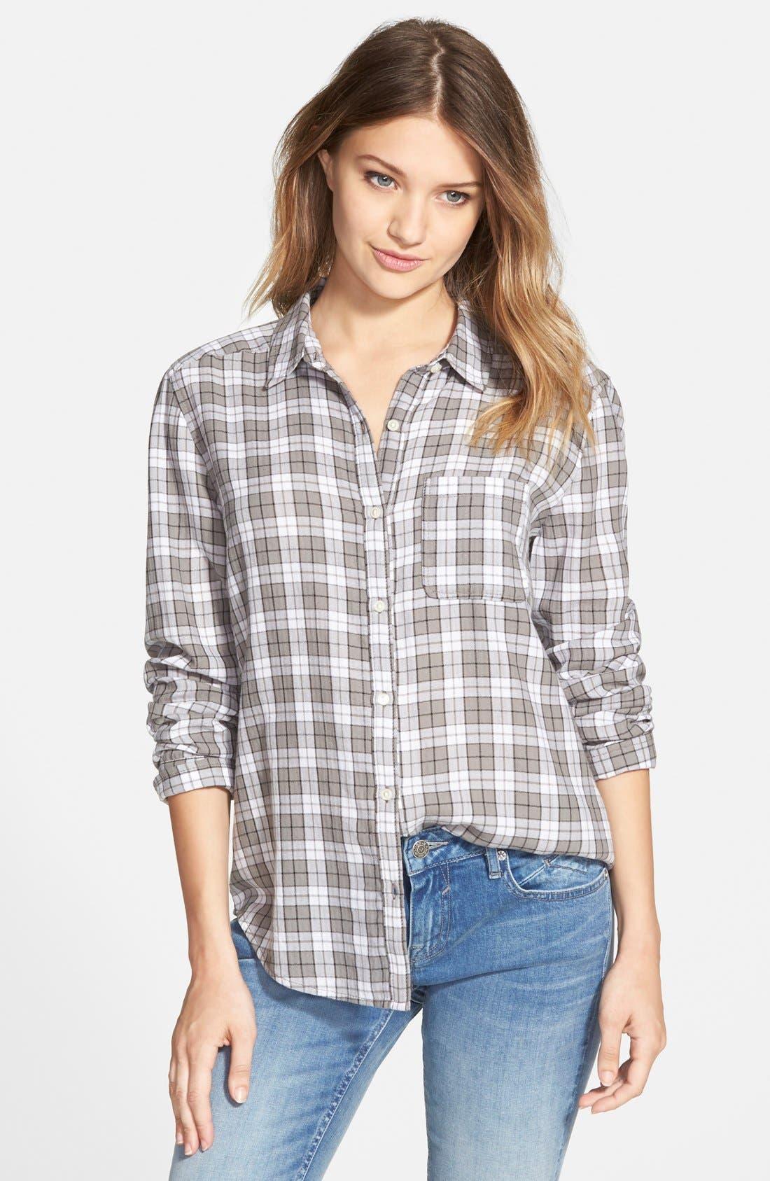 BP. Plaid Shirt, Main, color, 030