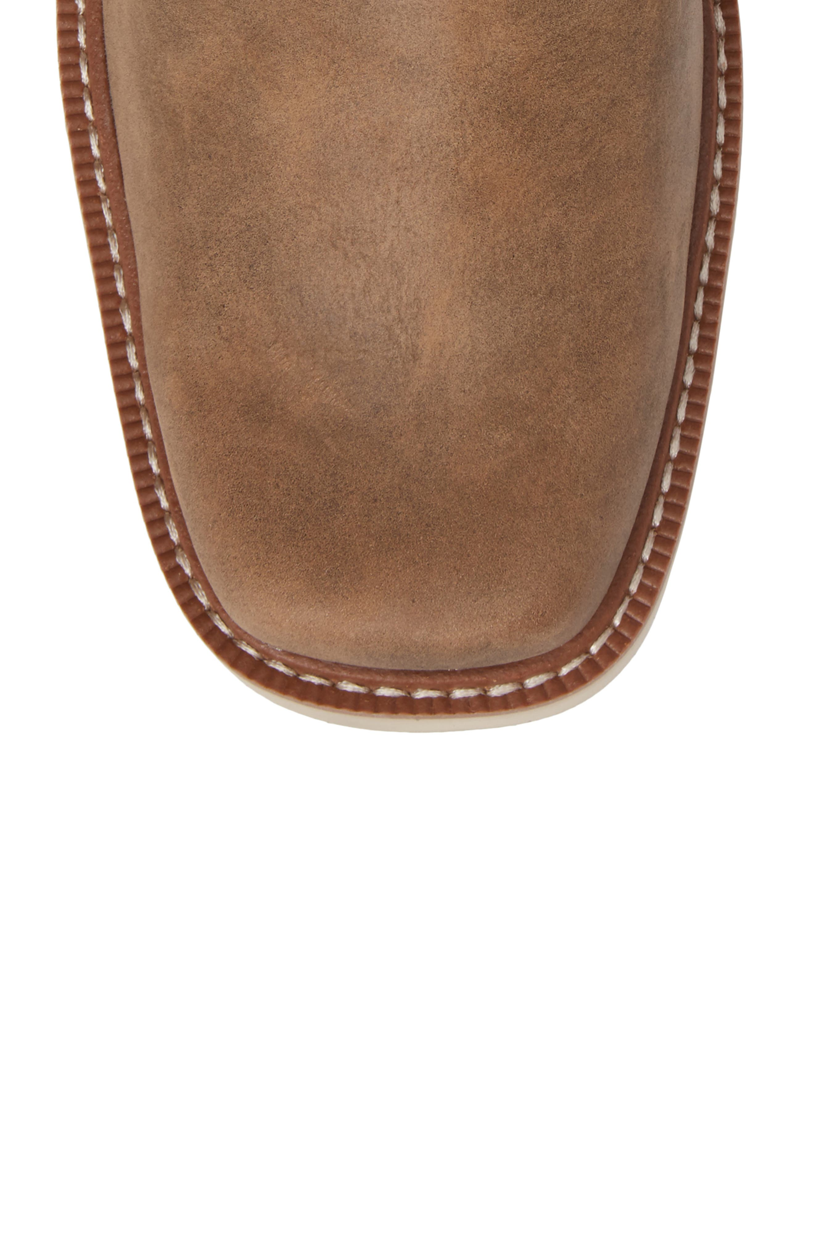 ARIAT, Rambler Tall Boot, Alternate thumbnail 5, color, BROWN BOMBER LEATHER
