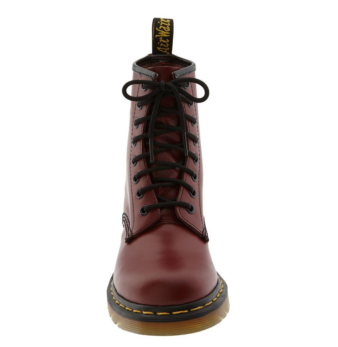 DR. MARTENS, '1460 W' Boot, Alternate thumbnail 5, color, CHERRY