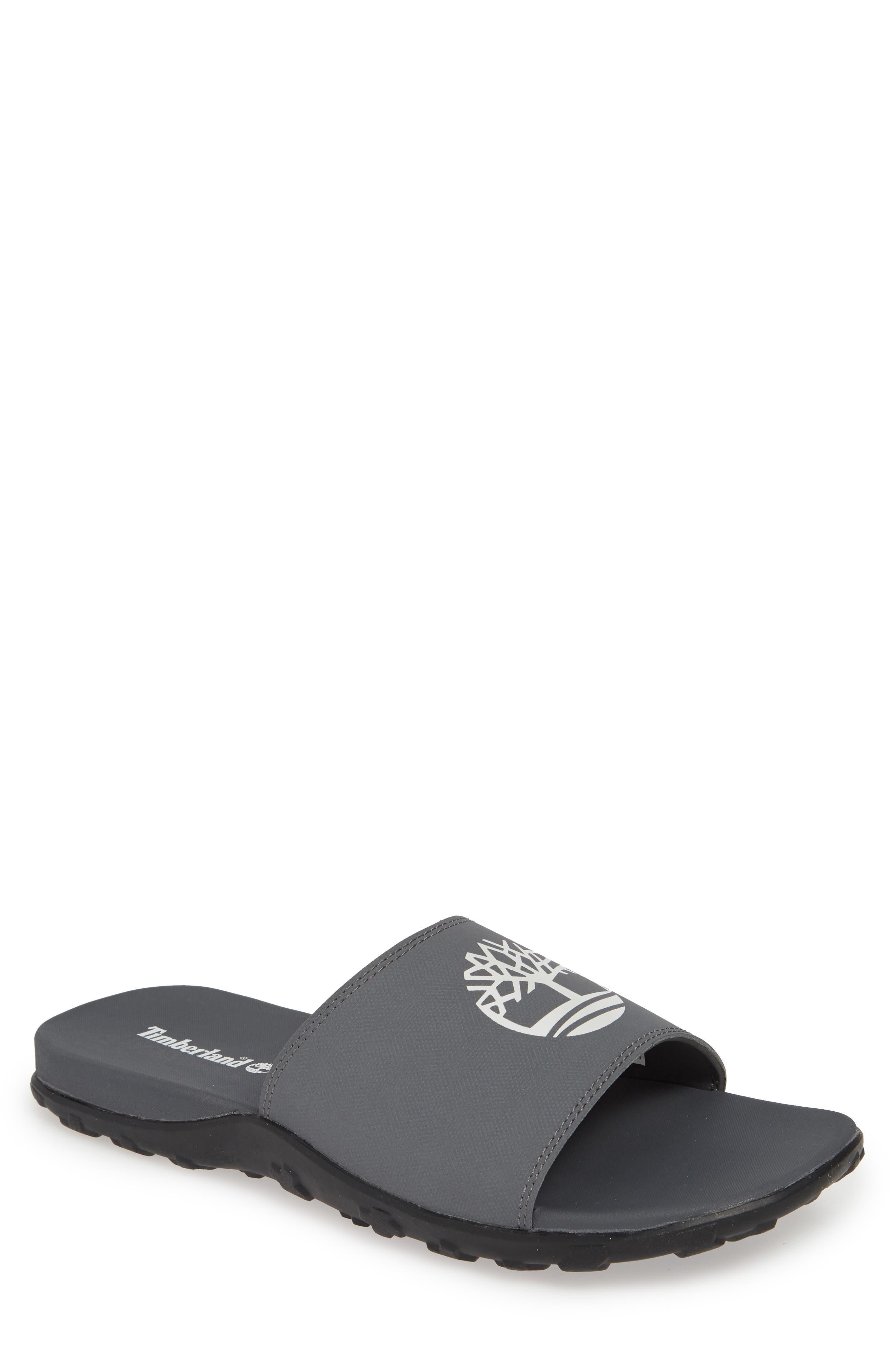 Timberland Fells Slide Sandal, Grey