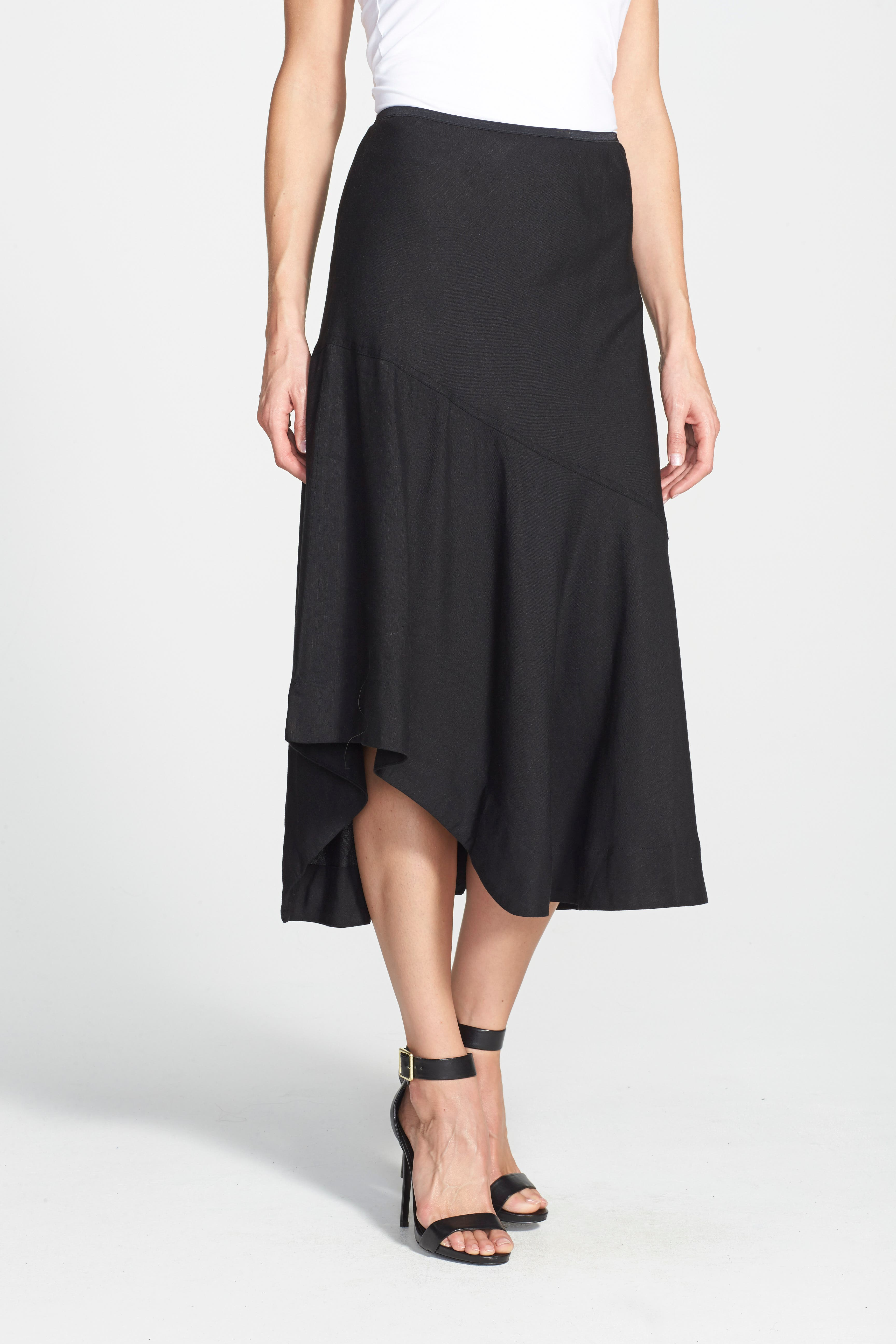 NIC+ZOE, 'The Long Engagement' Midi Skirt, Alternate thumbnail 4, color, 004