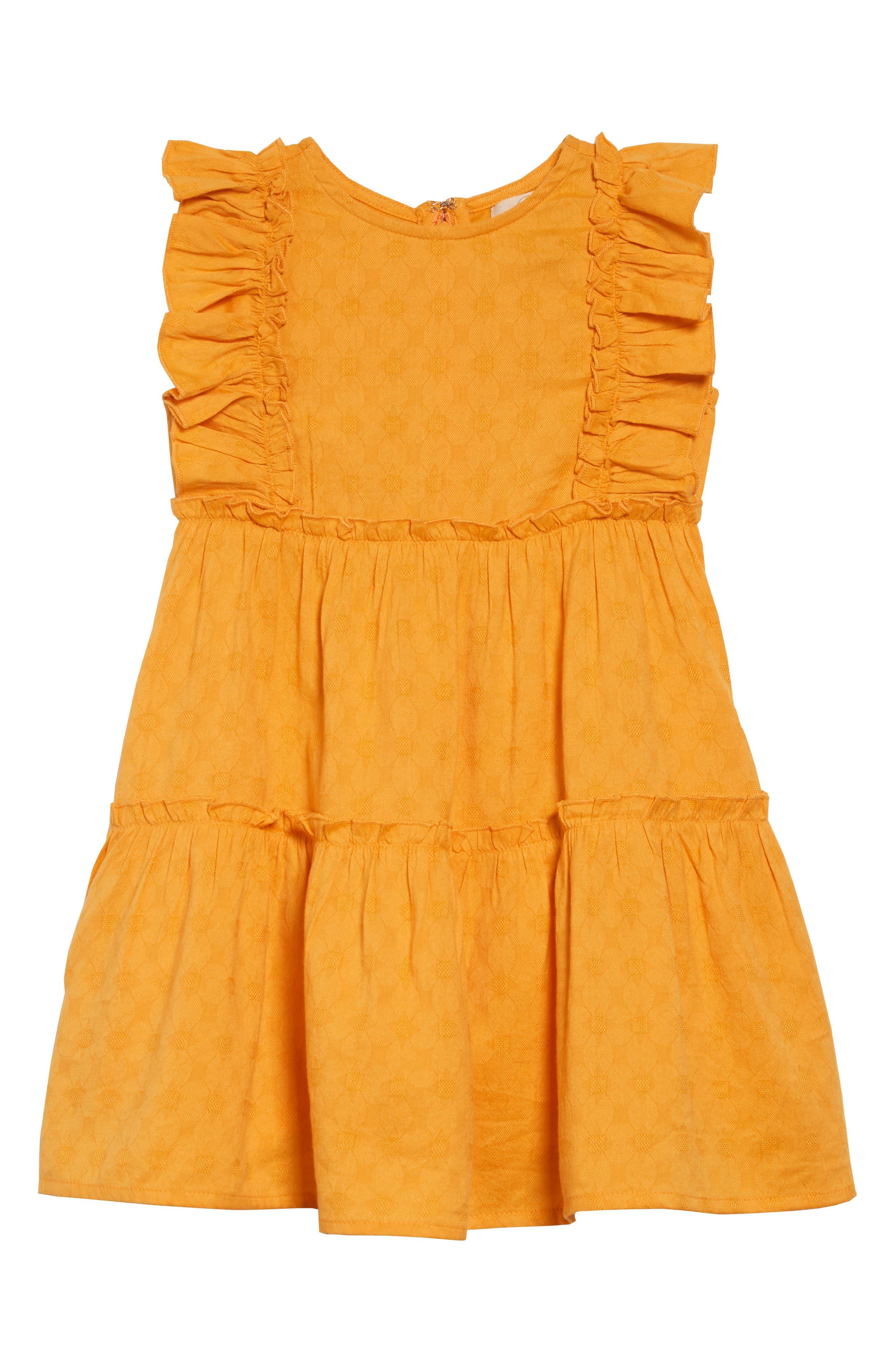 PEEK AREN'T YOU CURIOUS Angelica Ruffle Dress, Main, color, 700