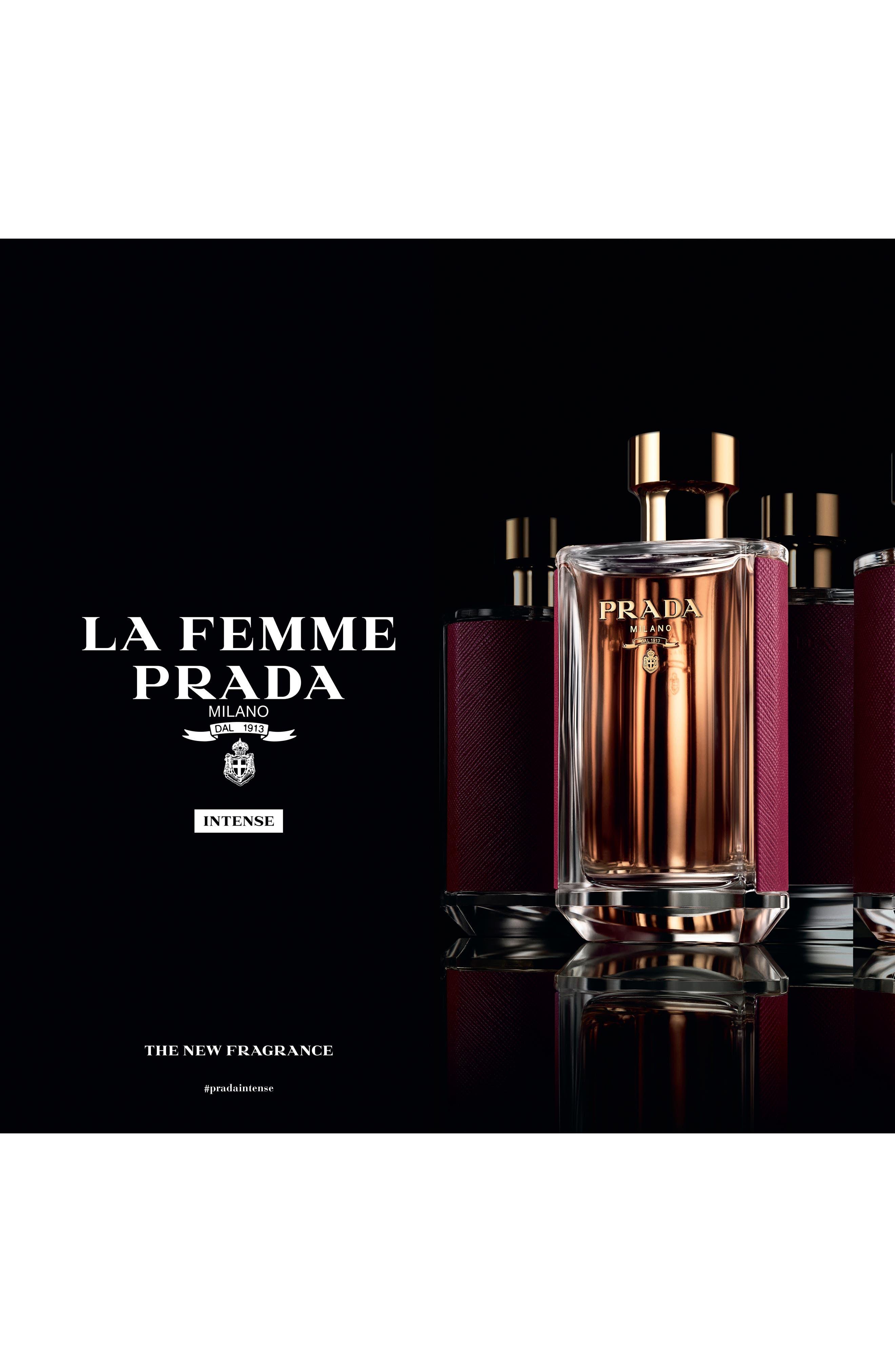 PRADA, La Femme Prada Eau de Parfum, Alternate thumbnail 6, color, NO COLOR