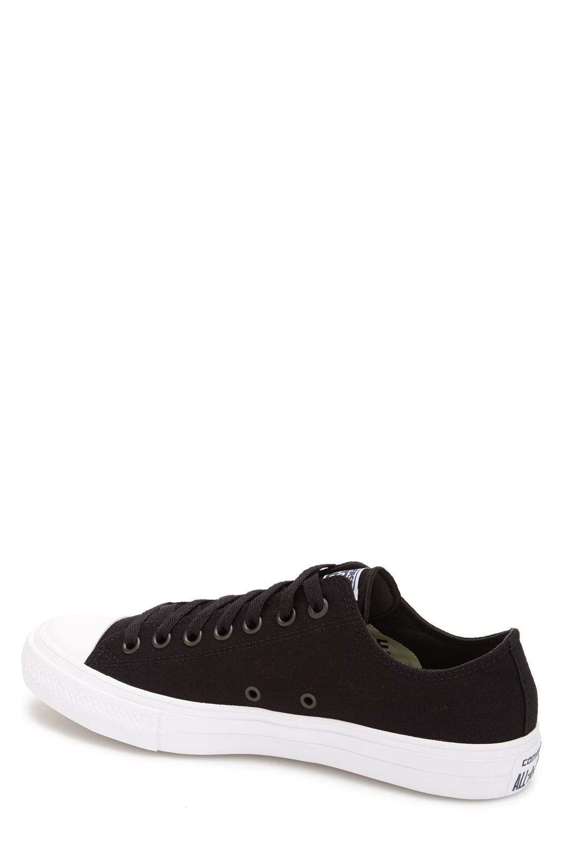 CONVERSE, Chuck Taylor<sup>®</sup> All Star<sup>®</sup> II 'Ox' Canvas Sneaker, Alternate thumbnail 2, color, 001