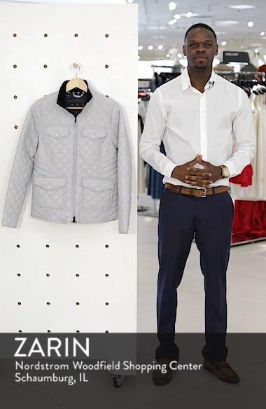 Sailboat Quilted Jacket, sales video thumbnail