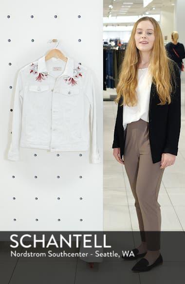 Embroidered Denim Jacket, sales video thumbnail