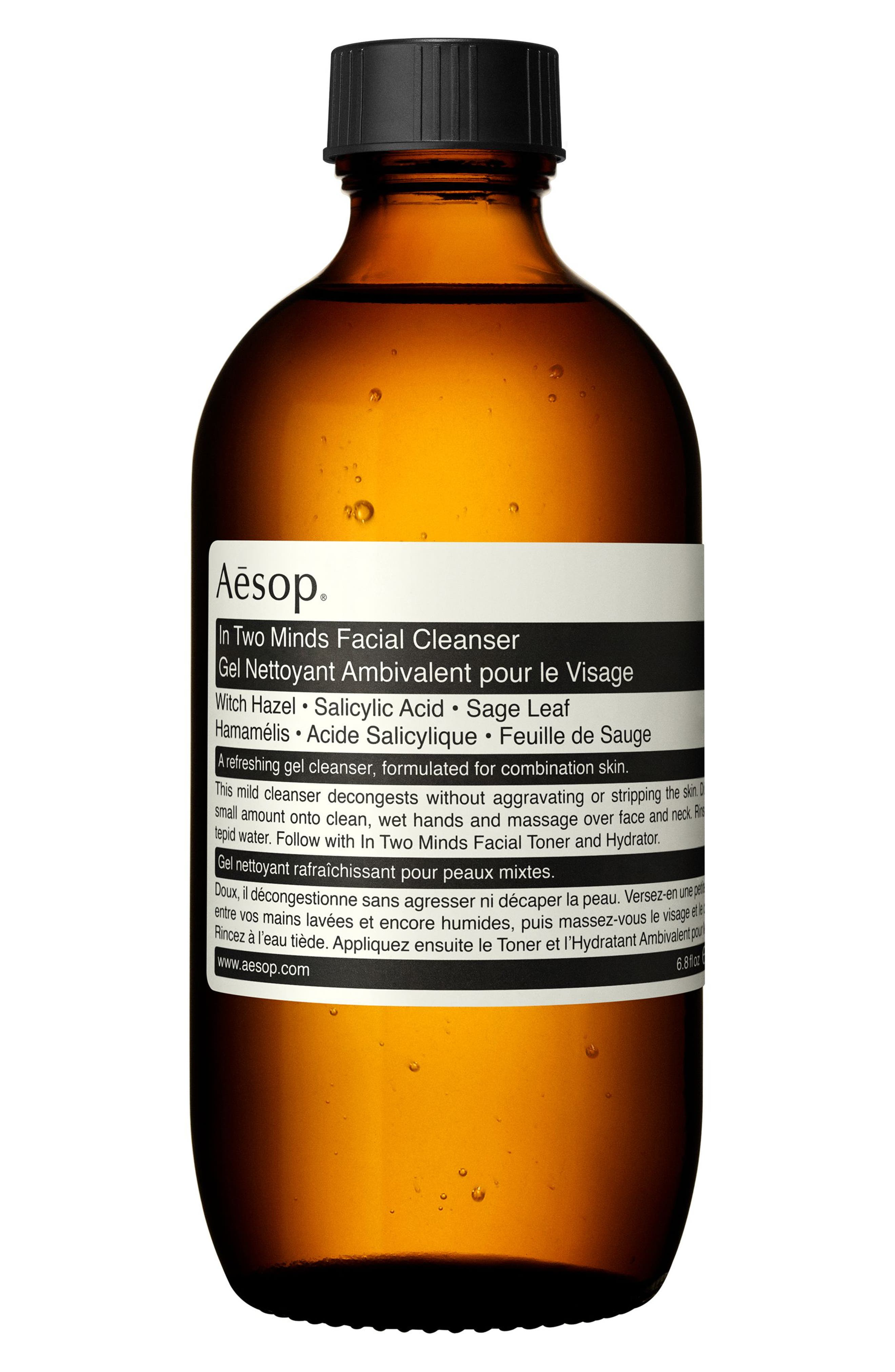 AESOP, In Two Minds Facial Cleanser, Main thumbnail 1, color, NO COLOR