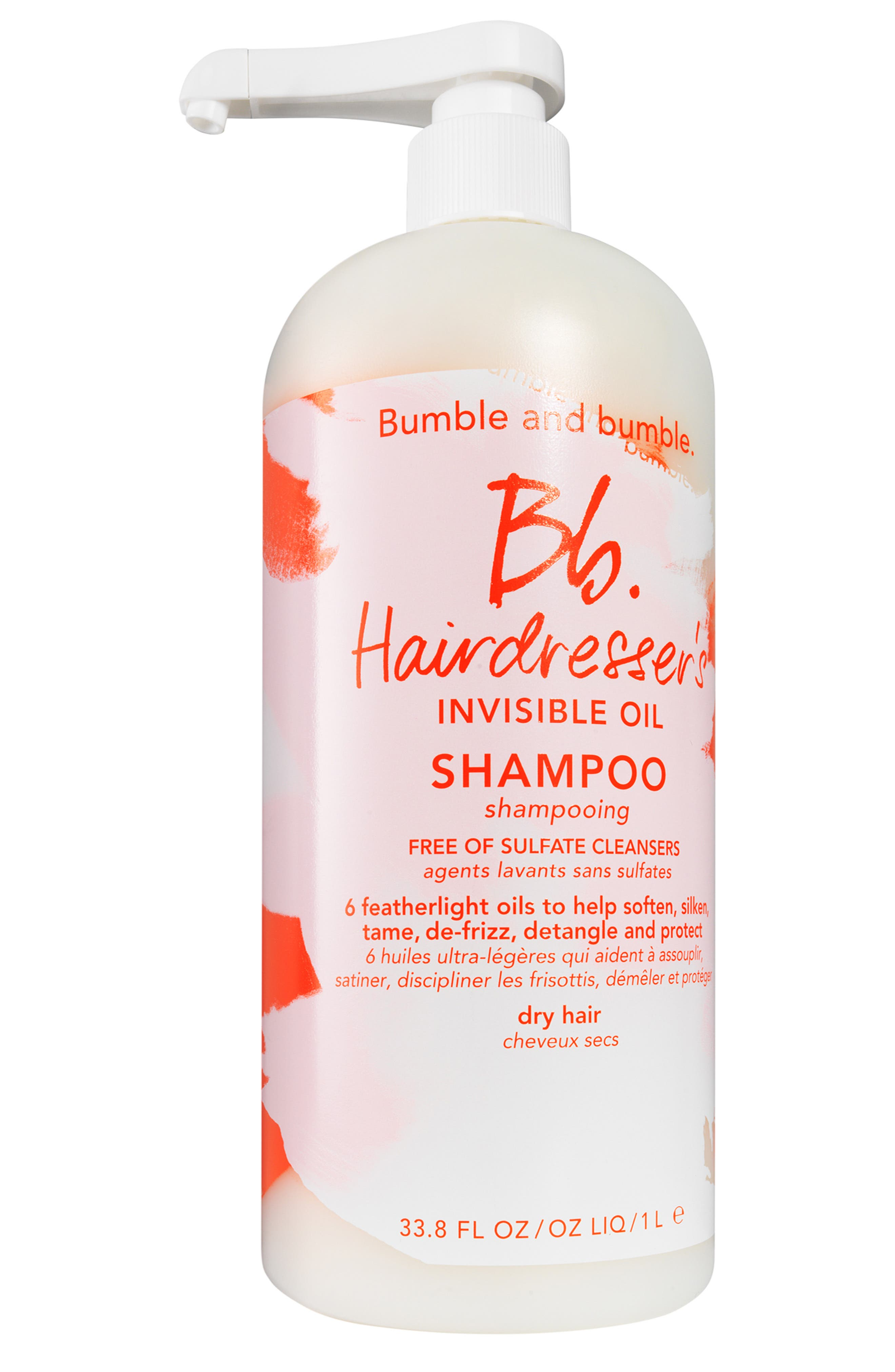 BUMBLE AND BUMBLE, Hairdresser's Invisible Oil Shampoo, Alternate thumbnail 3, color, NO COLOR