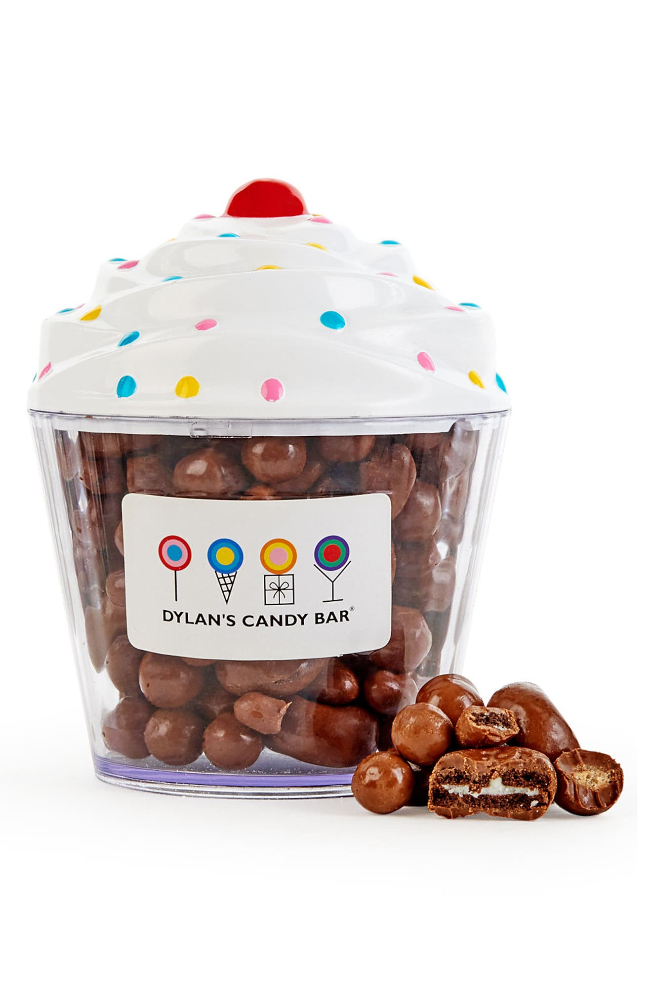 DYLAN'S CANDY BAR, Chocolate Bakery Mix Cupcake, Alternate thumbnail 2, color, BROWN