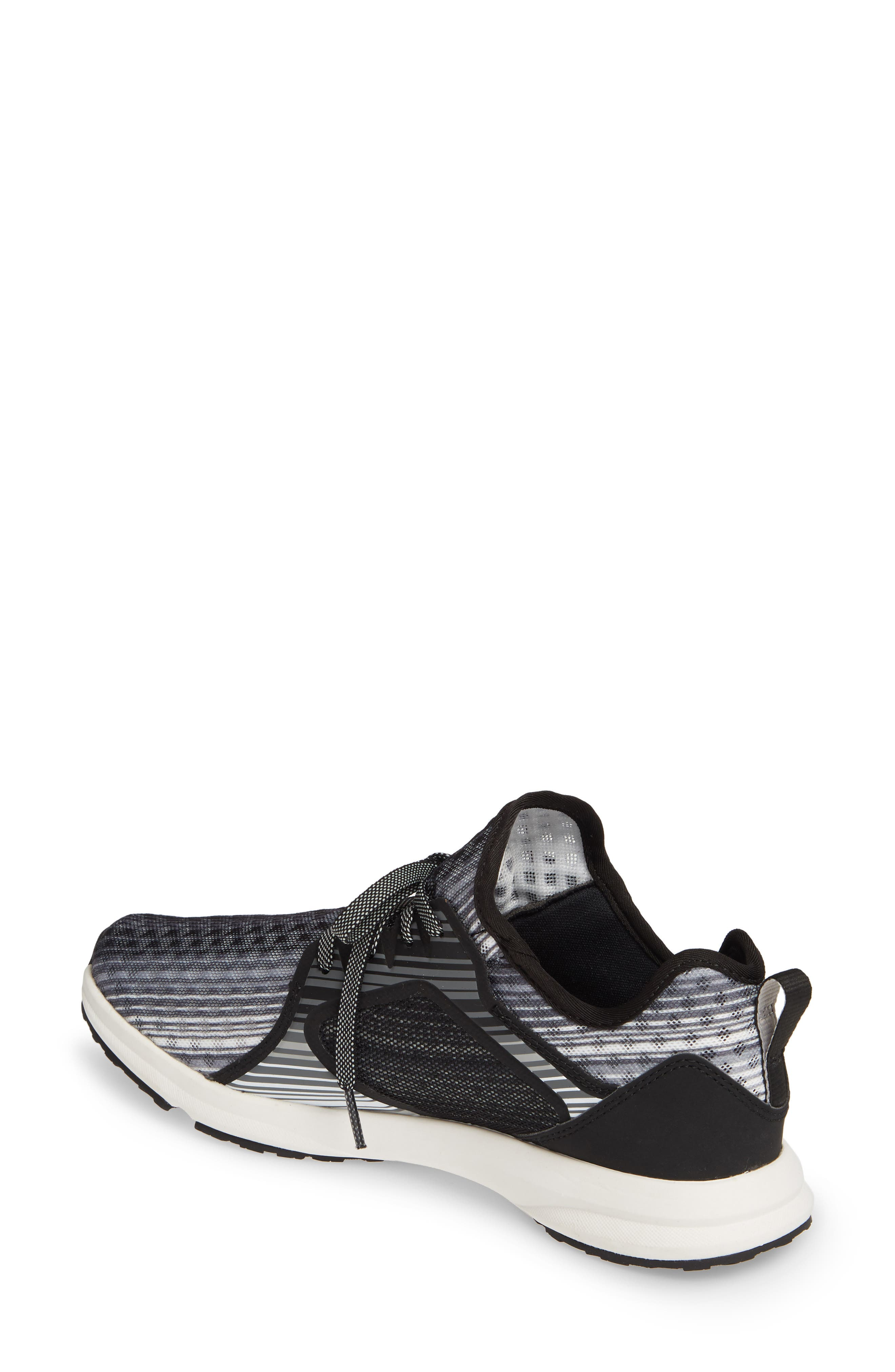 ARIAT, Fuse Print Sneaker, Alternate thumbnail 2, color, GREY STRIPE