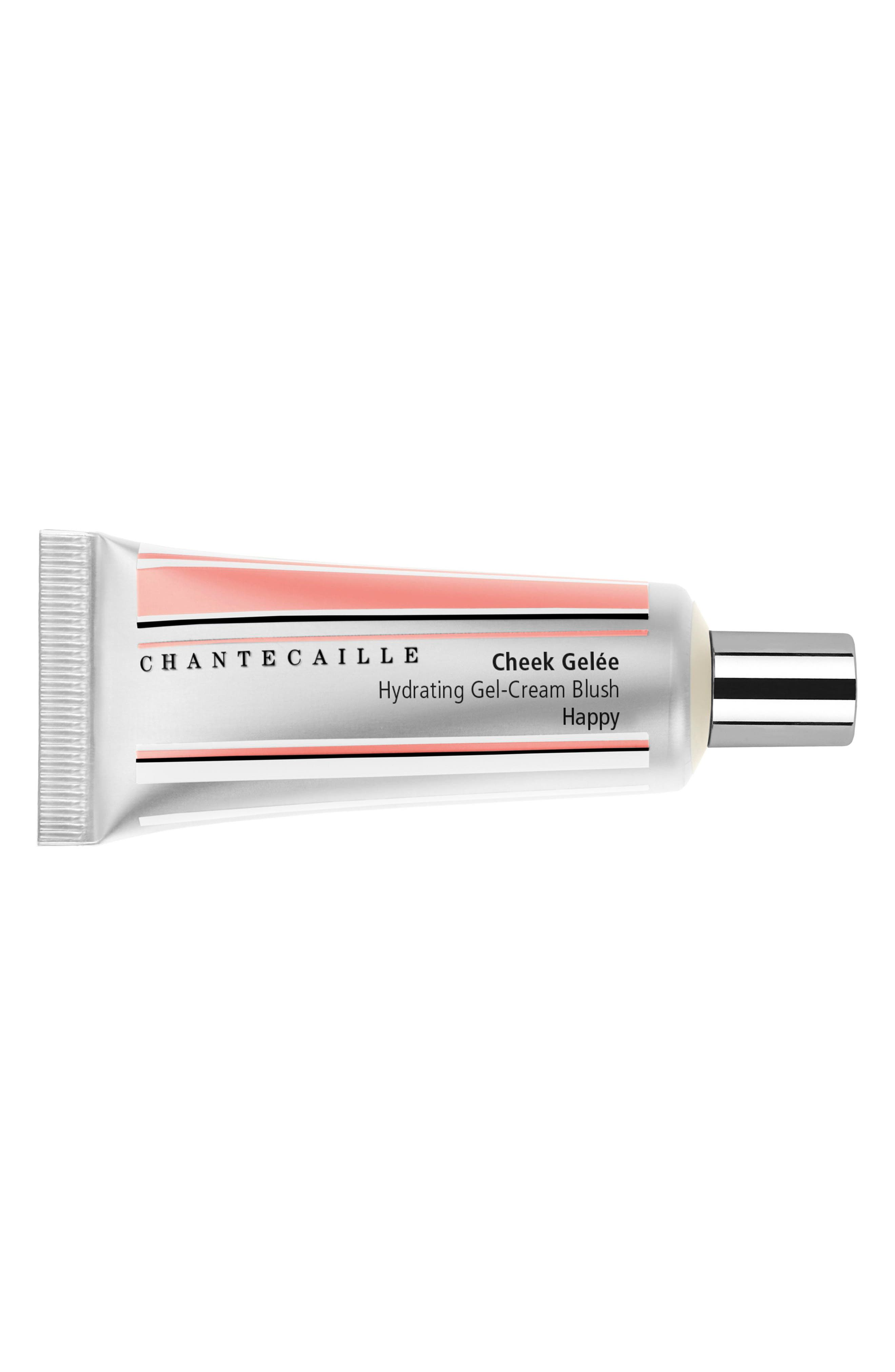 CHANTECAILLE, Cheek Gelée Hydrating Gel-Cream Blush, Alternate thumbnail 2, color, HAPPY
