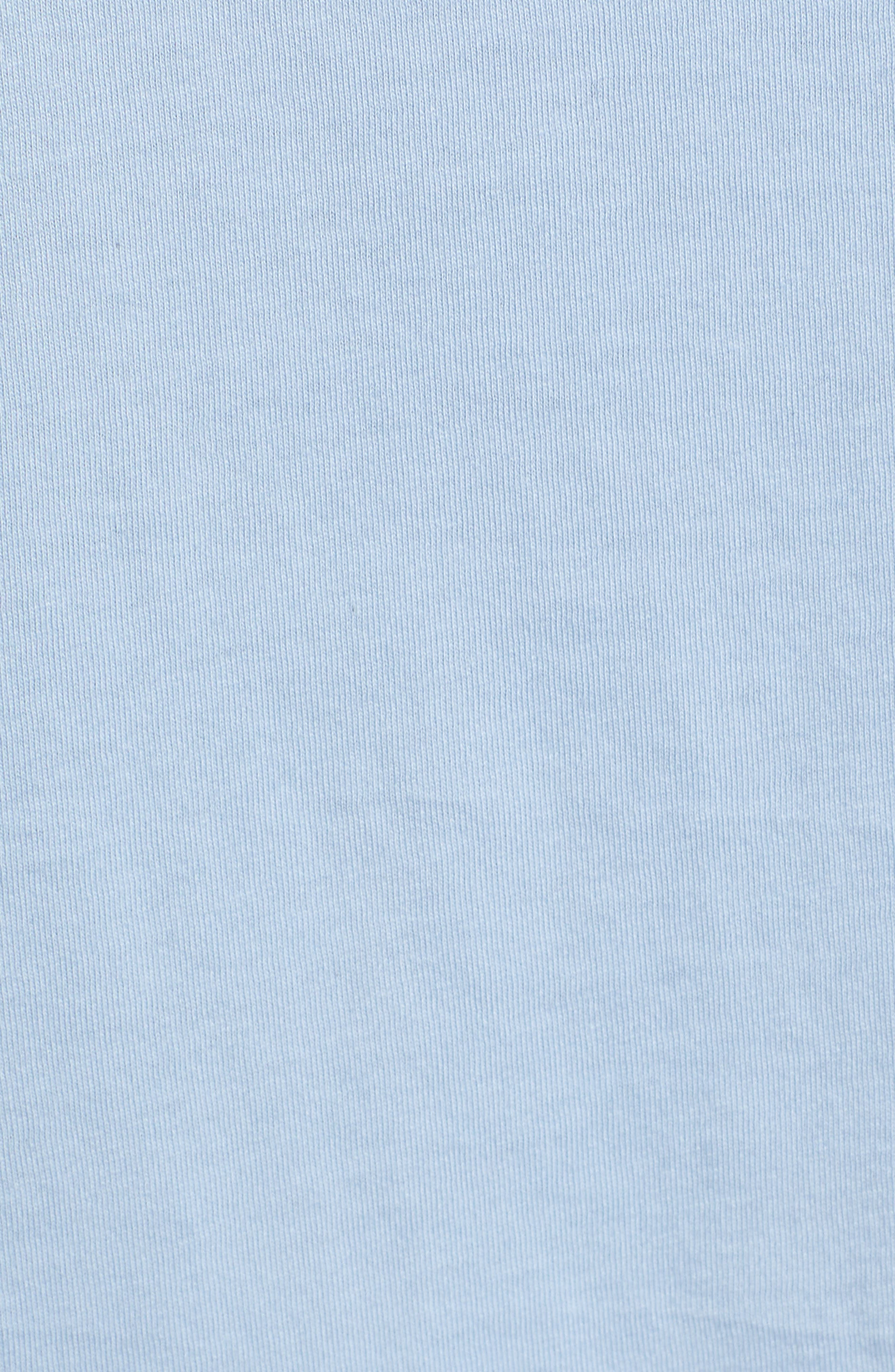 BAN.DO, Happy Place Classic Tee, Alternate thumbnail 5, color, LIGHT BLUE